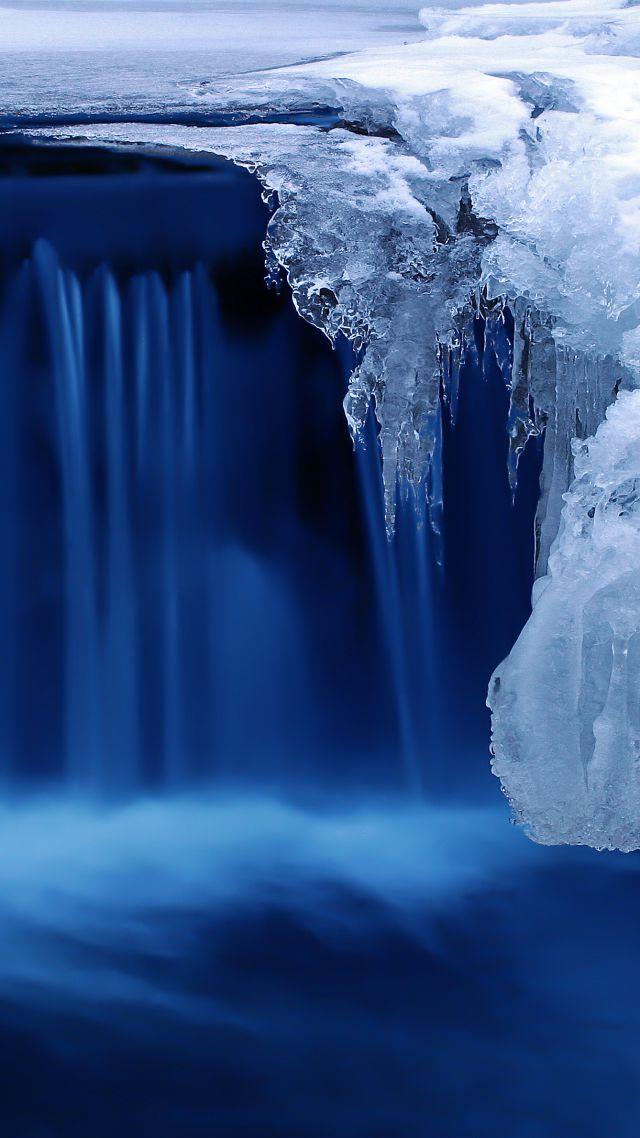 Water Fall Hd Wallpaper 4k Wallpaper Lake 4k Hd Wallpaper Waterfall Water Snow