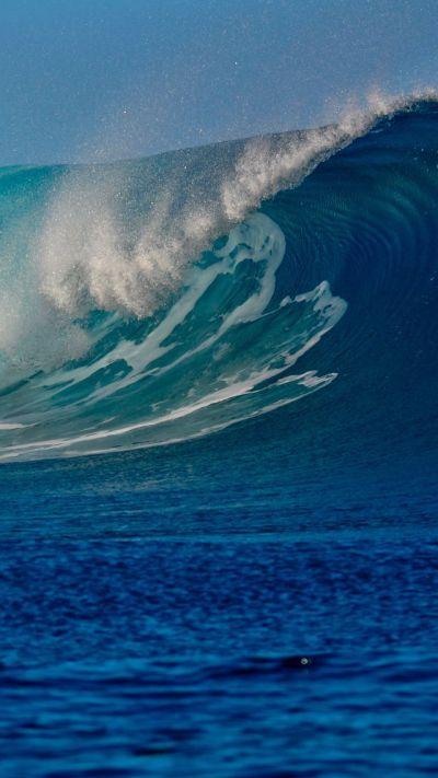Wallpaper Ocean, 5k, 4k wallpaper, sea, wave, Nature #5343