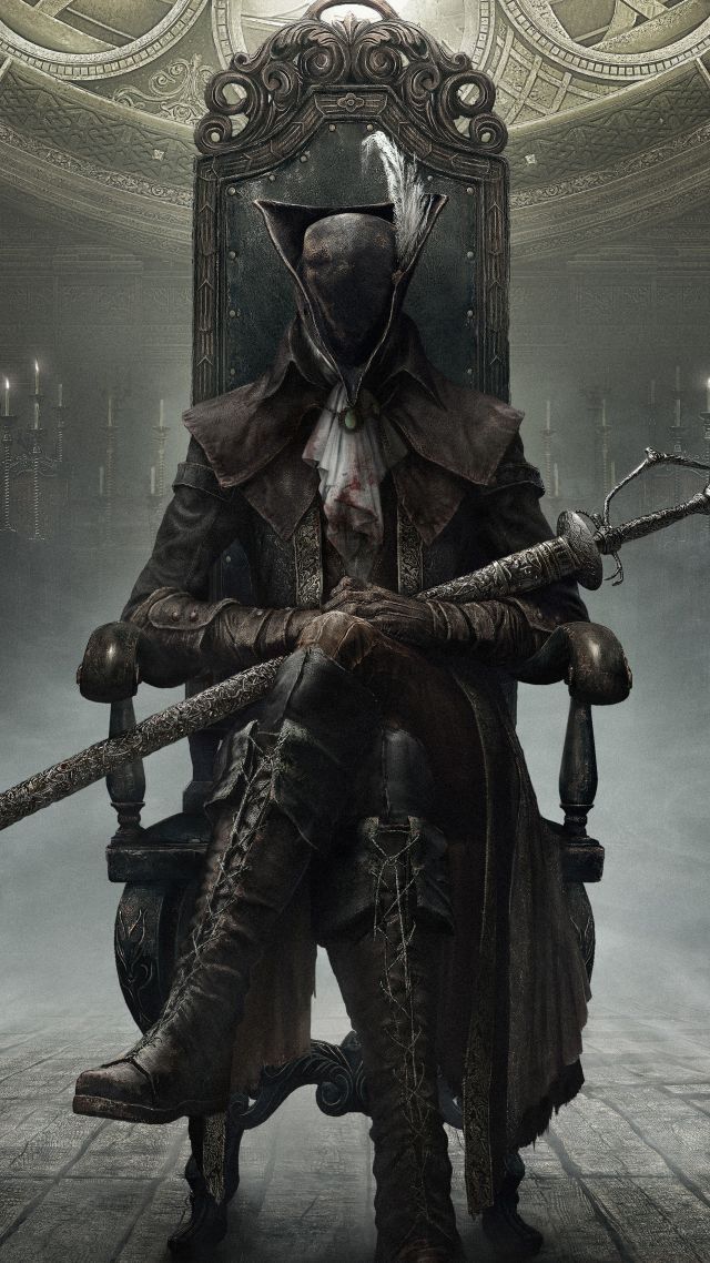 Underwater Iphone Wallpaper Wallpaper Bloodborne The Old Hunters Hunter Action