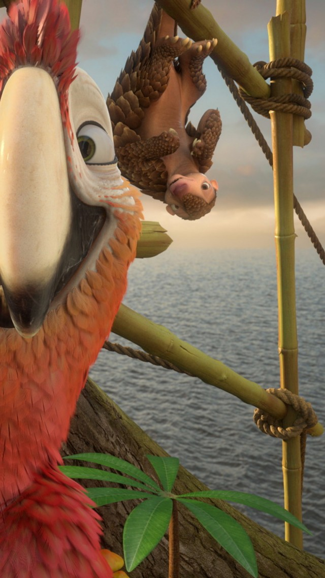 Life Quotes Wallpapers For Facebook Wallpaper Robinson Crusoe Parrot Best Animation Movies