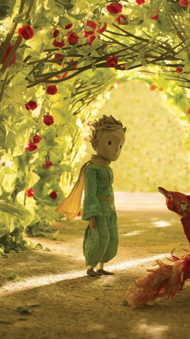 Girl With Cars Wallpaper Wallpaper The Little Prince The Fox Movies 9384