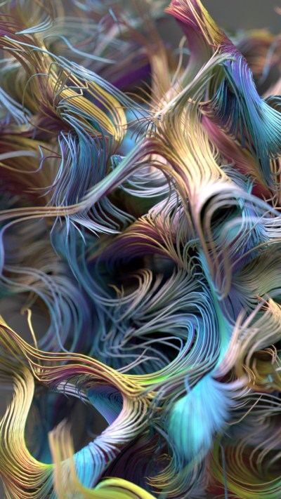 Wallpaper abstract, iPhone wallpaper, 4k, 5k, lines, 3D, OS #12741