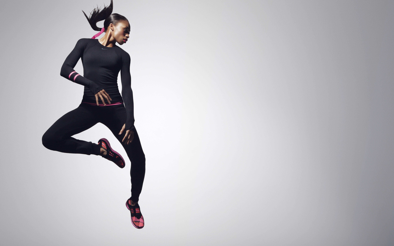 Fitness Girl Iphone Wallpaper Wallpaper Allyson Felix Nike Weight Loss Running
