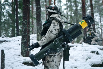Wallpaper army, soldier, Finnish Defence Forces, rocket launcher, winter, snow, camo, Military #1681