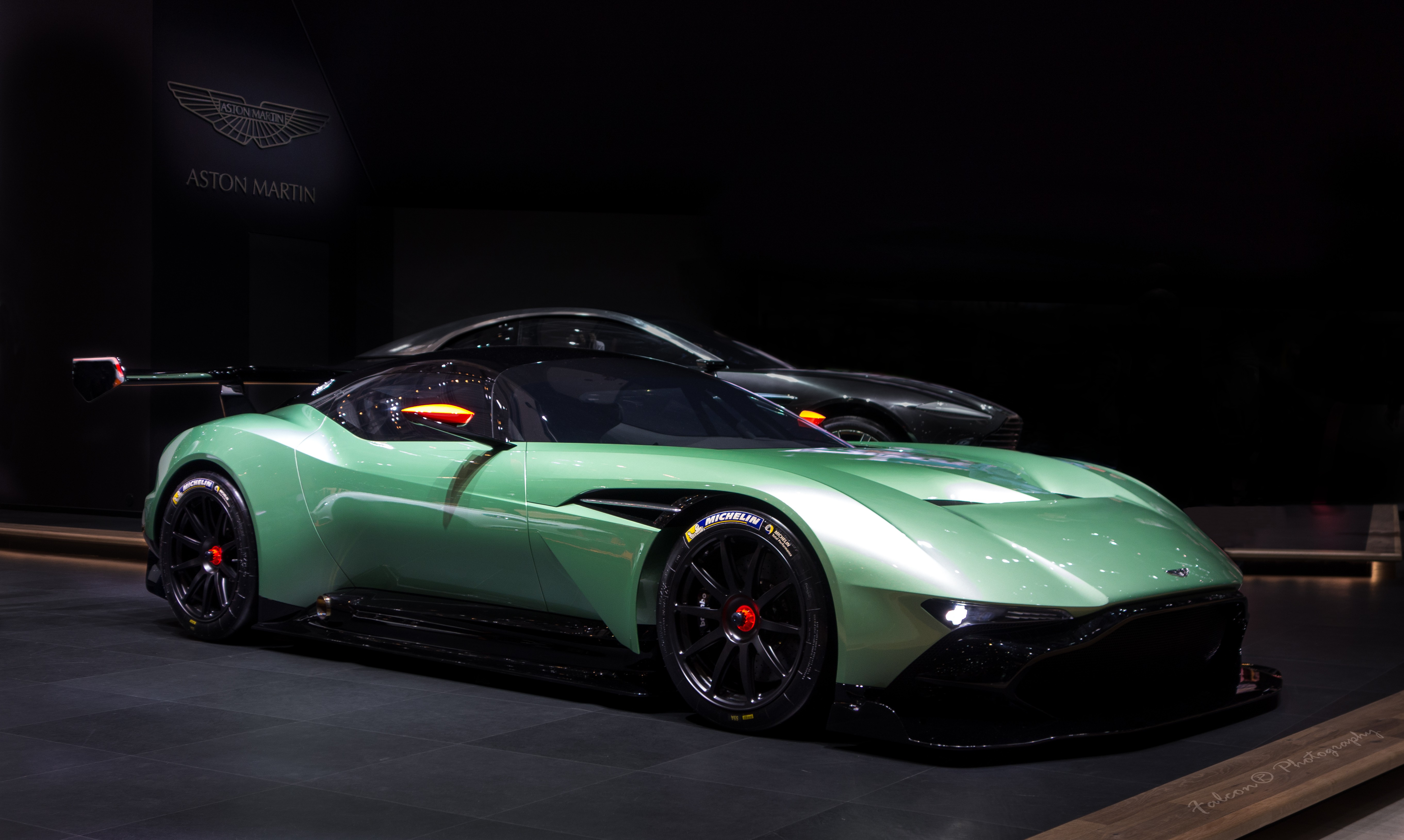 Classic Muscle Cars Hd Wallpapers Wallpaper Aston Martin Vulcan Coupe Track Only Green