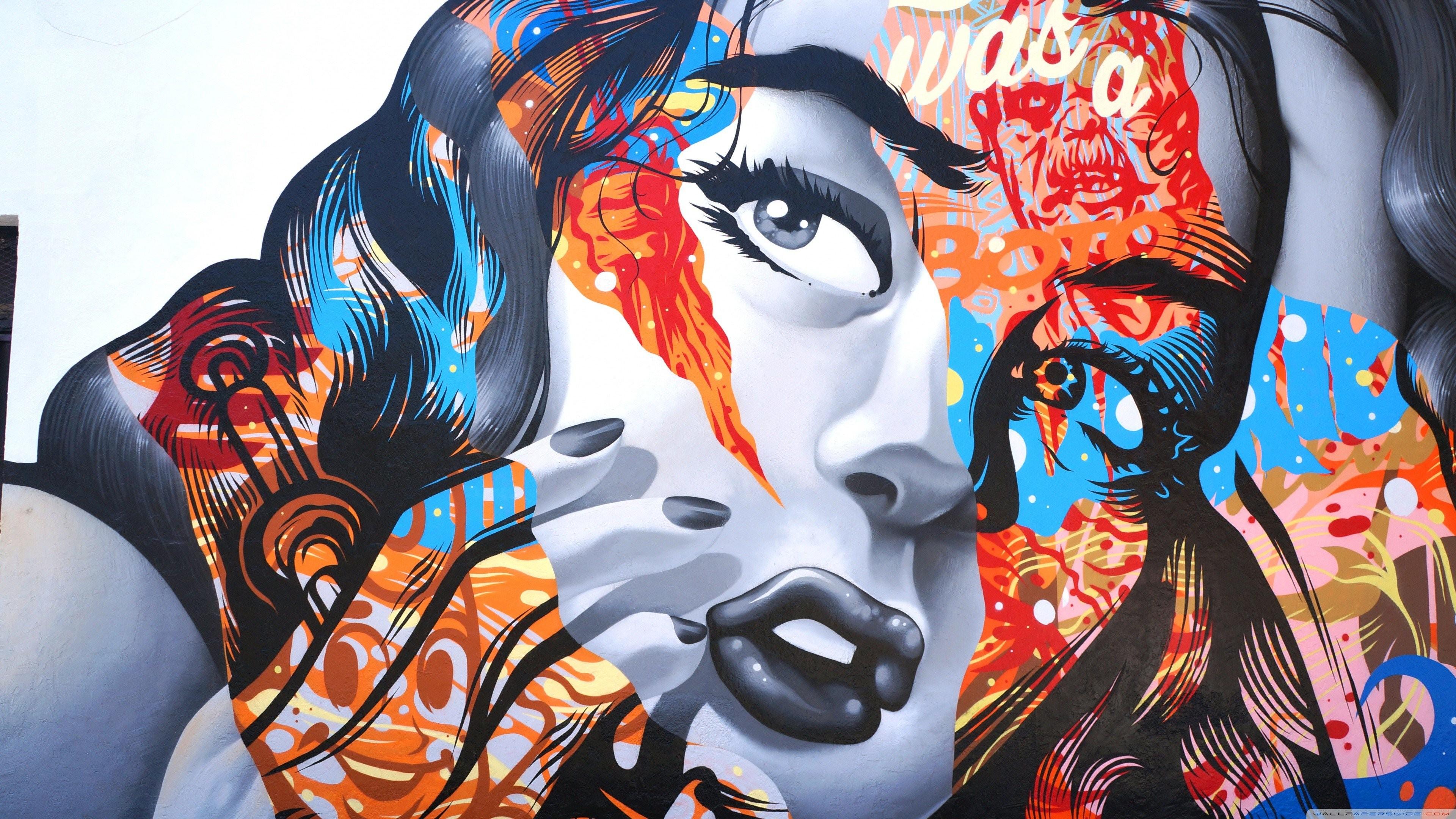 Graffiti Wallpaper Hd Wallpaper Bioshock Infinite Graffiti Girl Games 10947