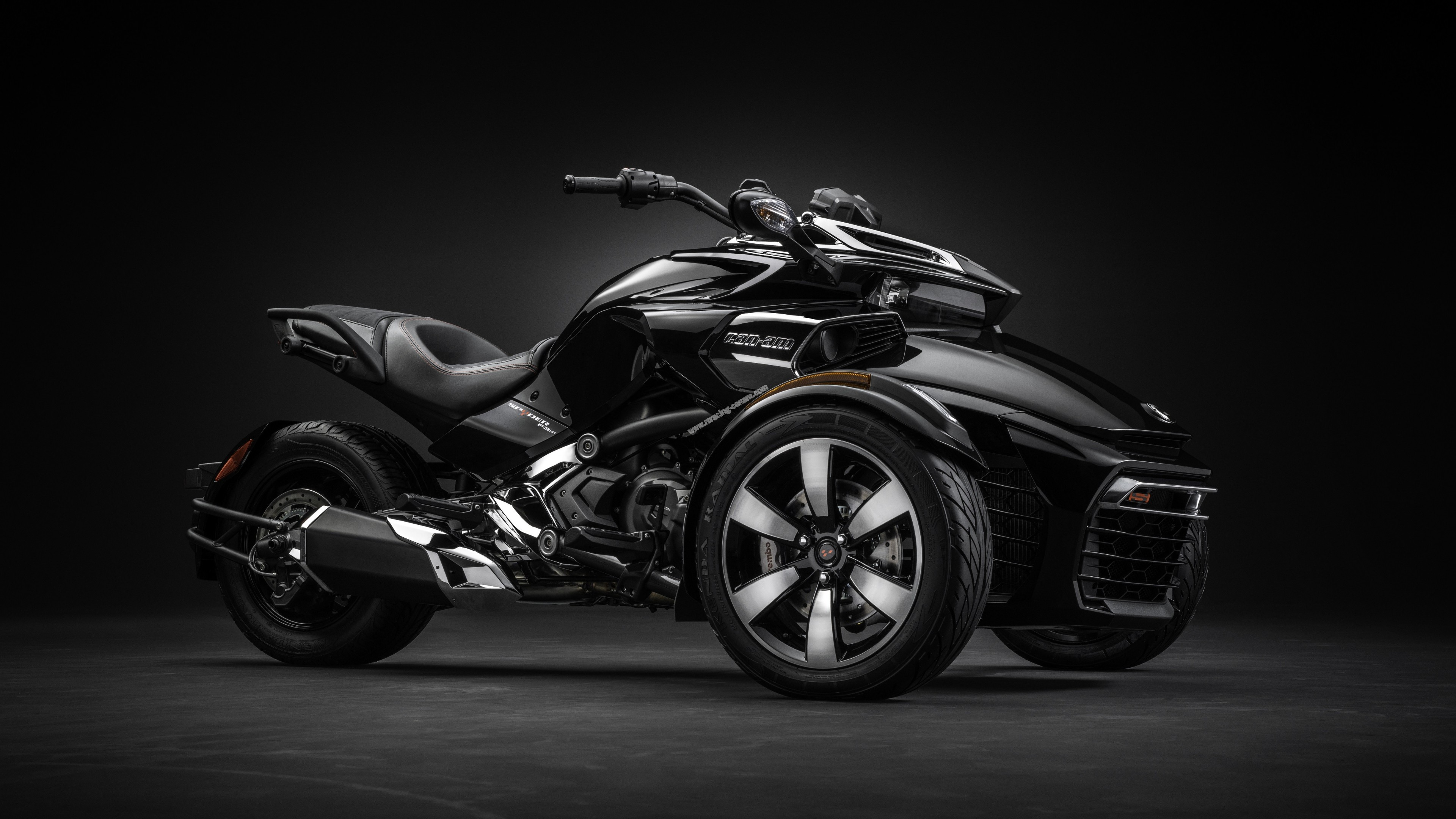 Car Wallpaper 8k Wallpaper Can Am Spyder F3 T Concept Tricycle Cars