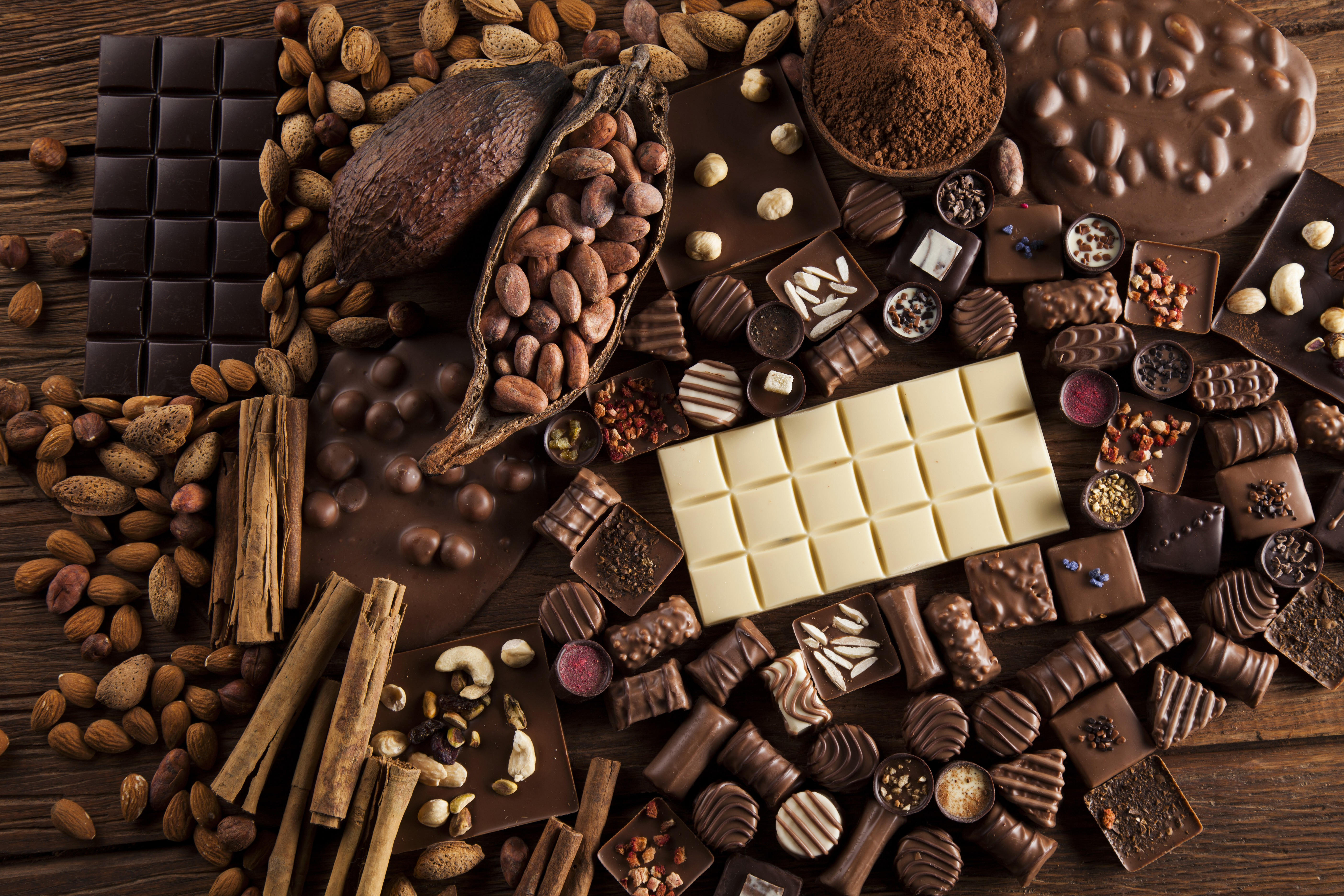Chocolate Day Hd Wallpaper Wallpaper Chocolate Cocoa Delicious 5k Food 17848