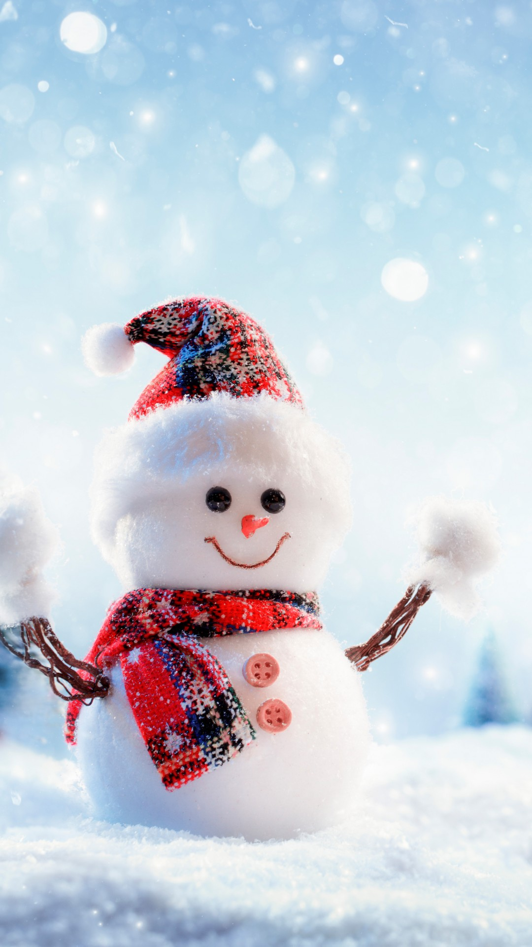 Wallpaper Nature With Quotes Wallpaper Christmas New Year Snow Winter Snowman 8k