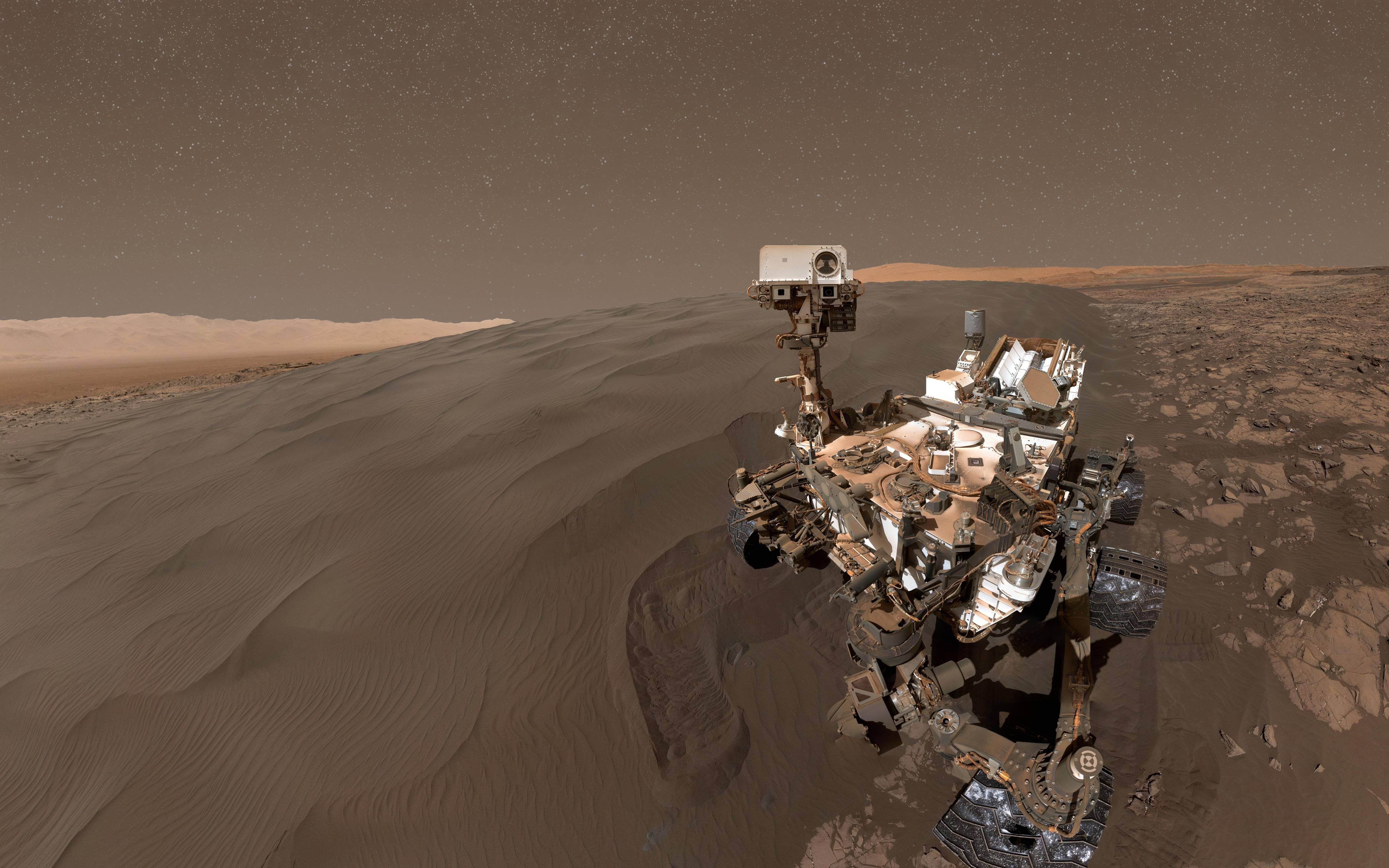 Best Animation Wallpaper For Android Wallpaper Curiosity Rover Selfie Mars Duna Space 8716