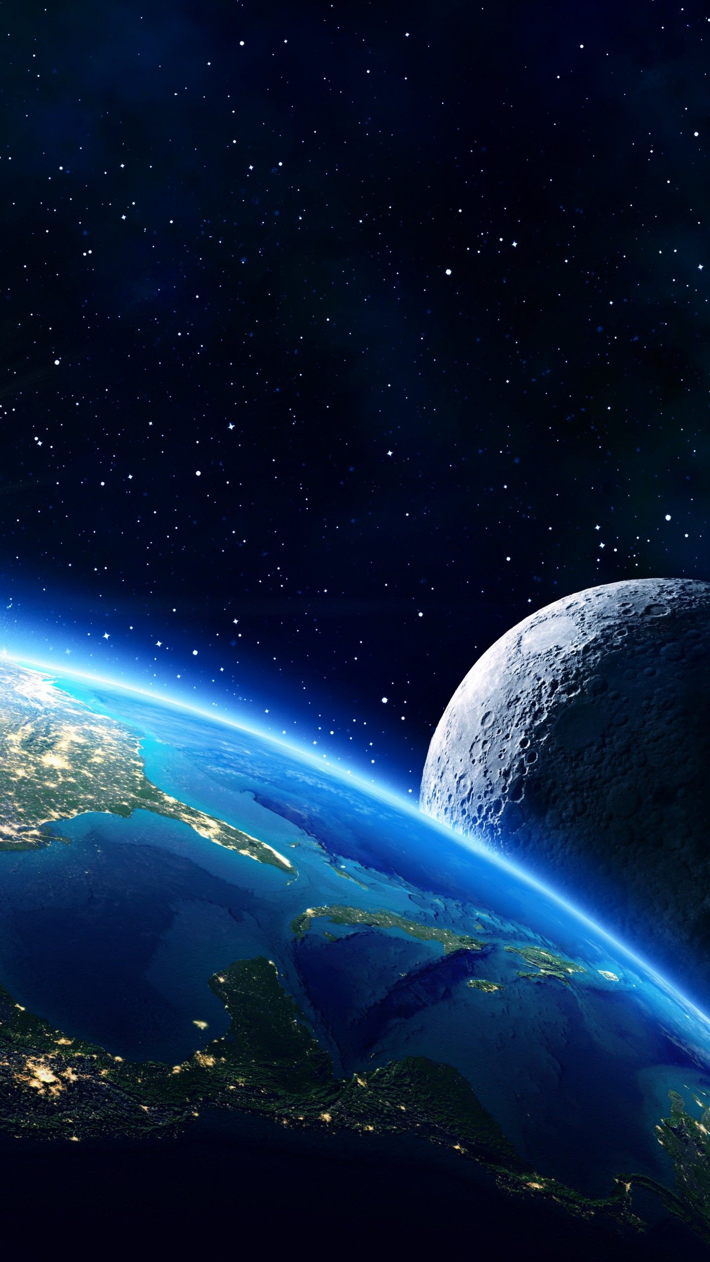 Space Hd Wallpapers 1080p Wallpaper Earth Moon Planet Star 5k Space 16639