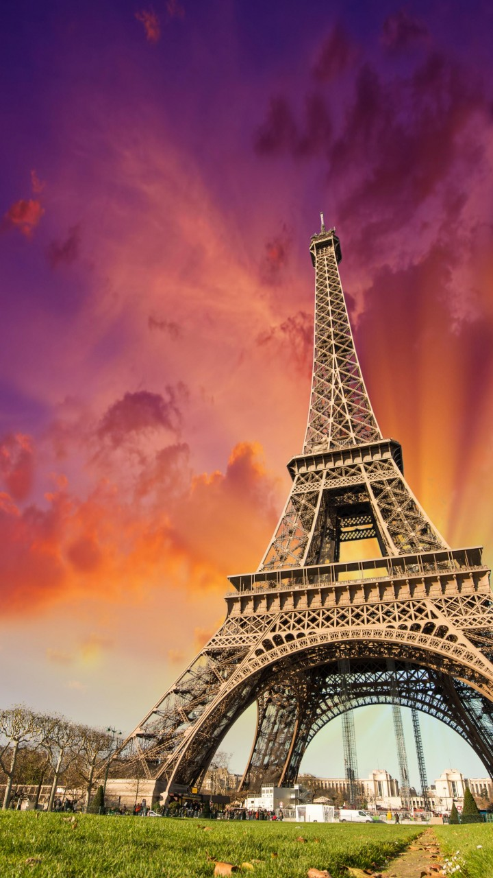 Hd Wallpapers Of Girls And Cars Wallpaper Eiffel Tower Paris France Tourism Travel