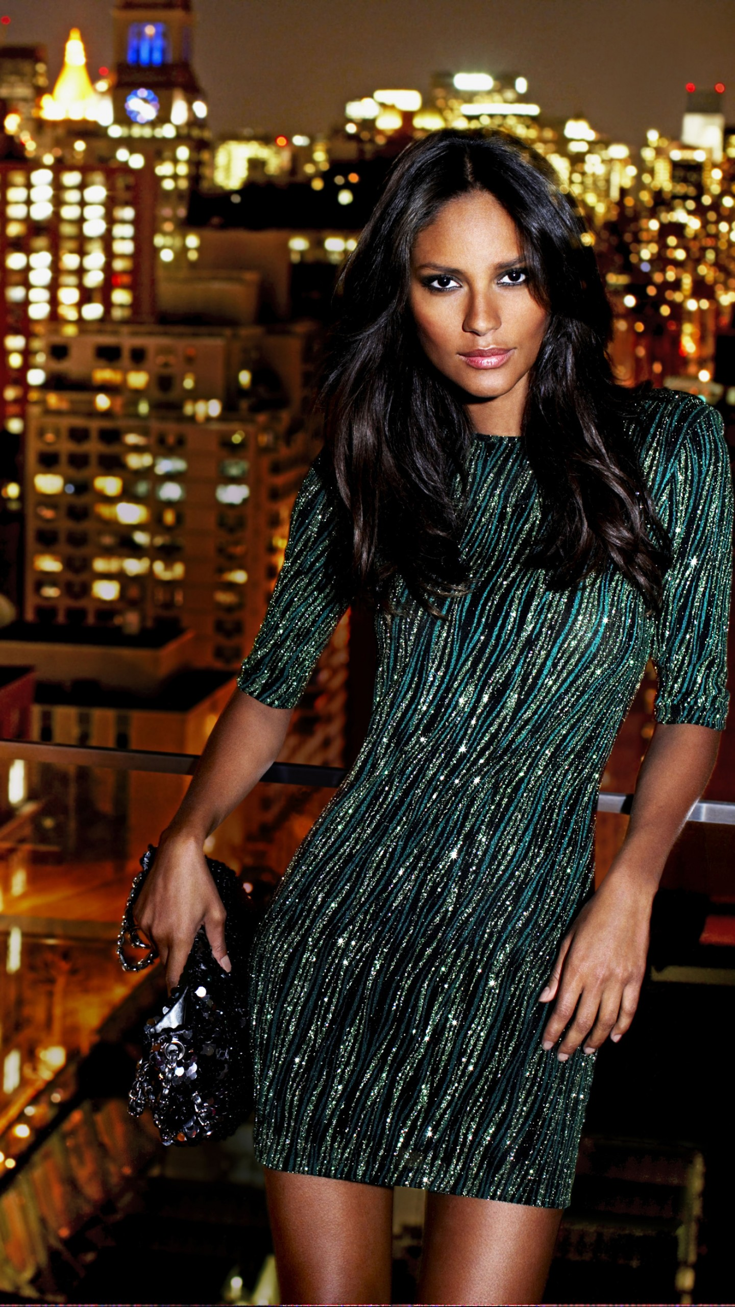 Pinterest Wallpaper Quotes Wallpaper Emanuela De Paula Model Brunette Dress City