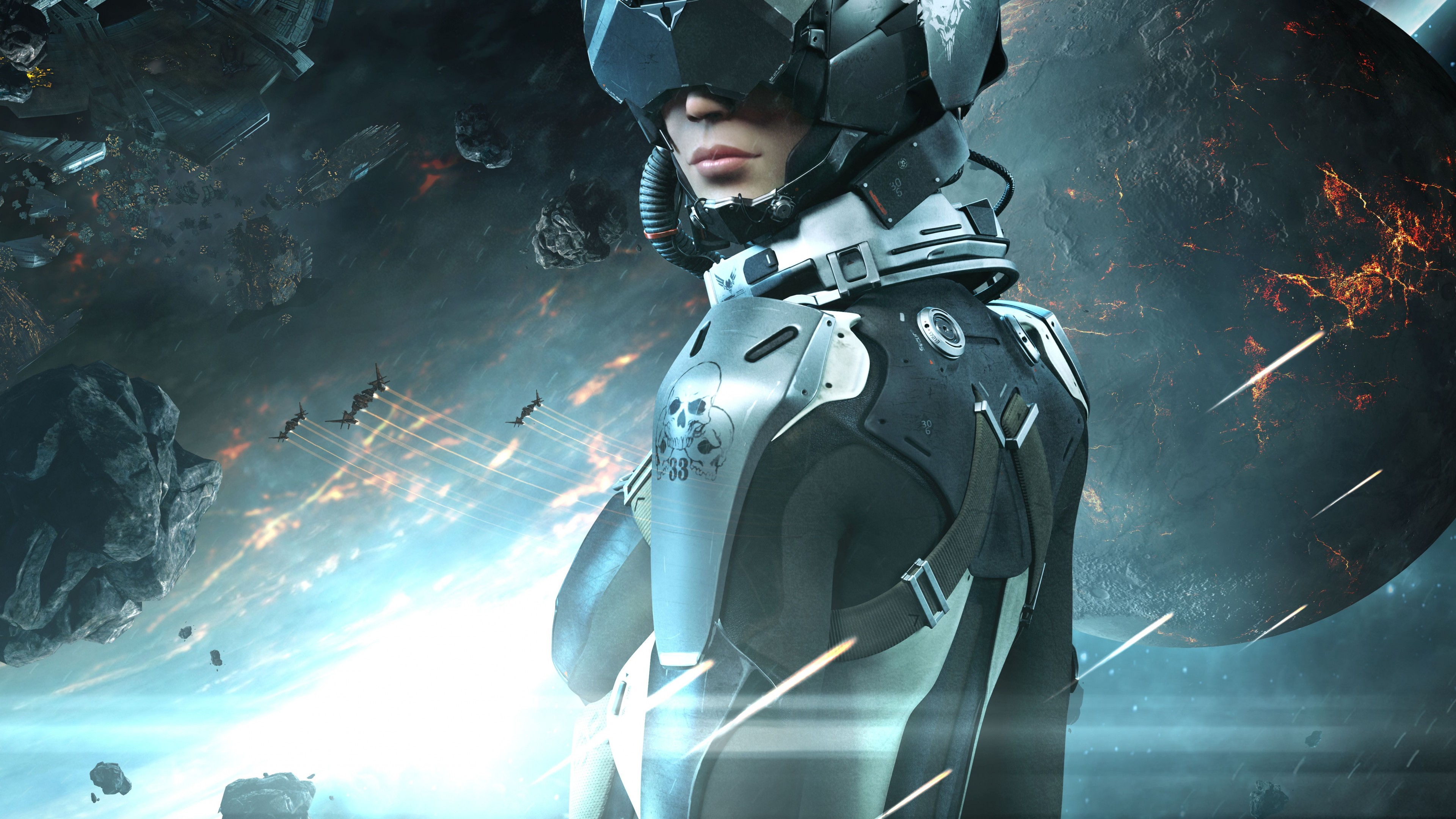 Pc Wallpapers For Girls Wallpaper Eve Valkyrie Best Games 2015 Game Space Sci