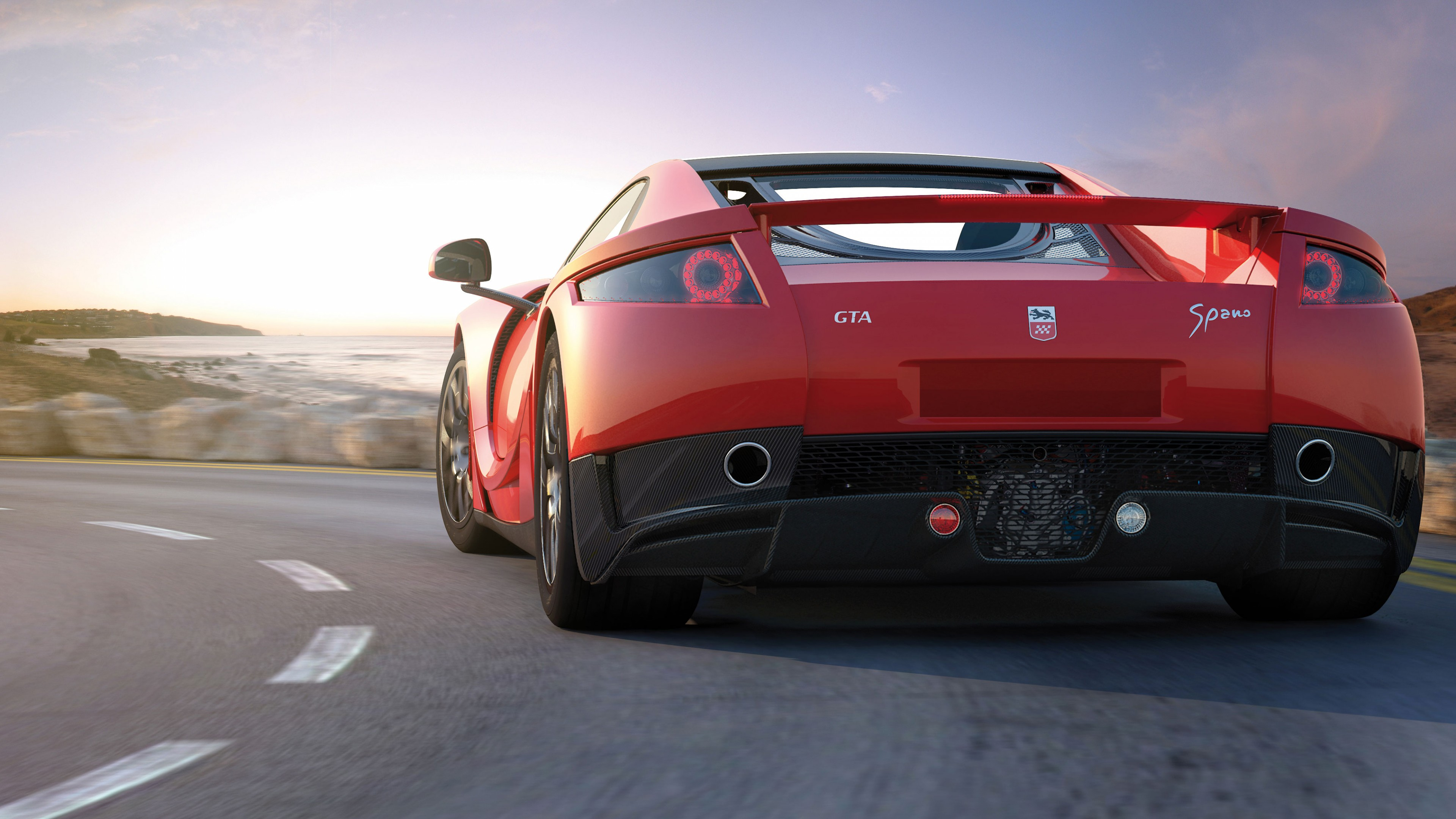 Car Interior Wallpaper Hd Wallpaper Gta Spano Supercar Coupe Red Cars Amp Bikes 6121