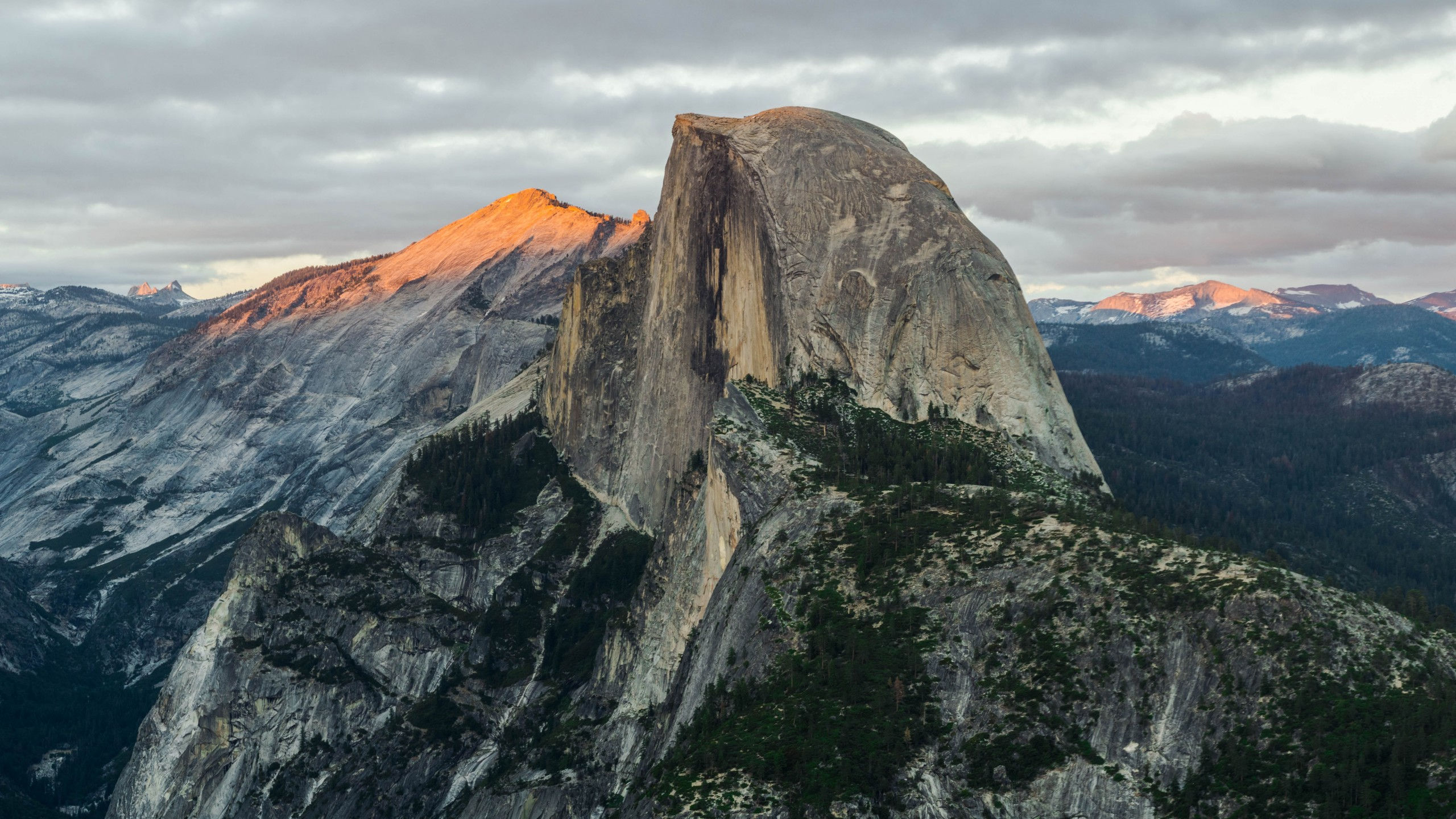 4k Fall Mountain Wallpaper Wallpaper Half Dome Mountain Yosemite National Park