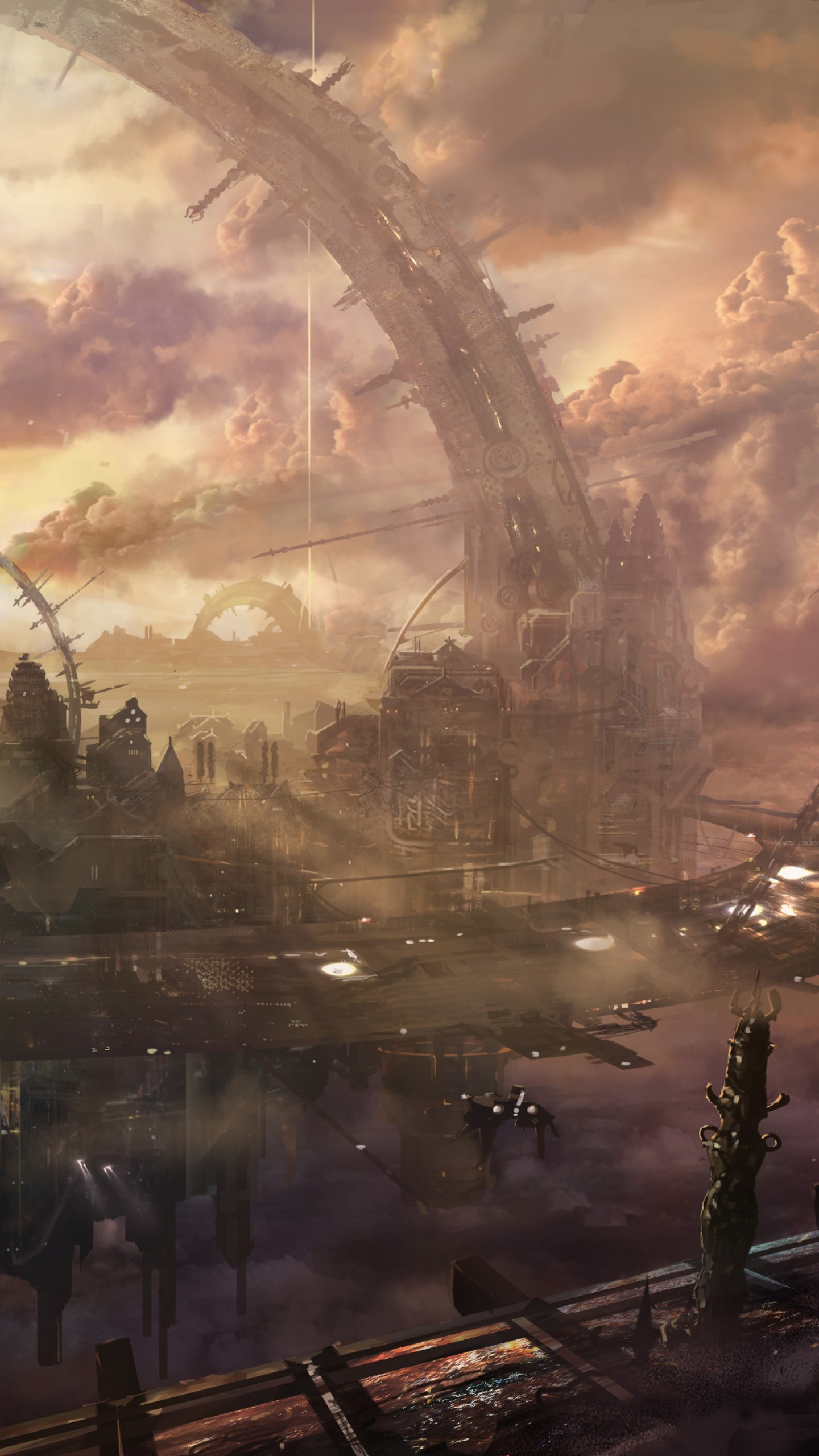 All Indian Girls Wallpaper Wallpaper Heaven City Arch Building Space Station