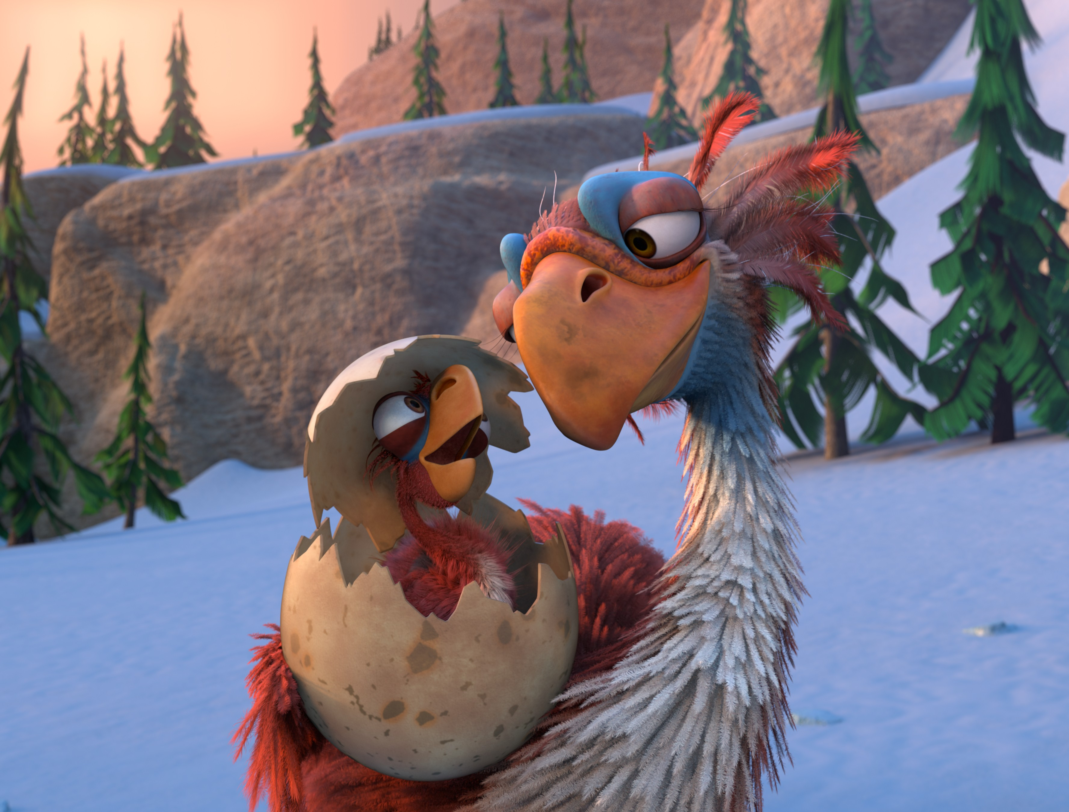Cute Easter Egg Wallpaper Wallpaper Ice Age The Great Egg Birds Best Animations