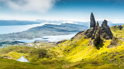 Wallpaper Isle of Skye, Scotland, Europe, nature, travel, 8k, Nature #14973