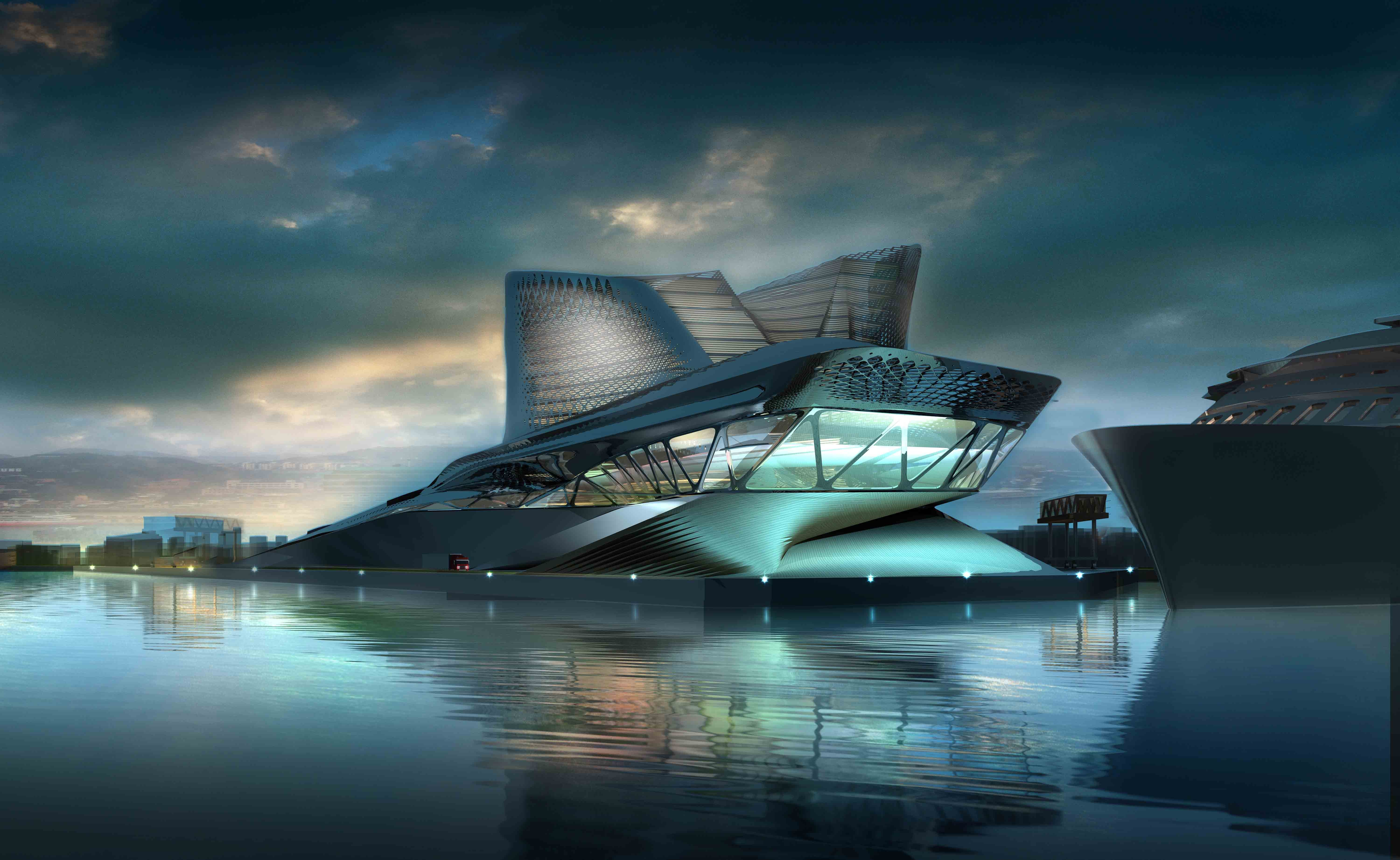 Best Pc Wallpapers Hd Cars Wallpaper Keelung Harbor Service Building Taiwan Tourism