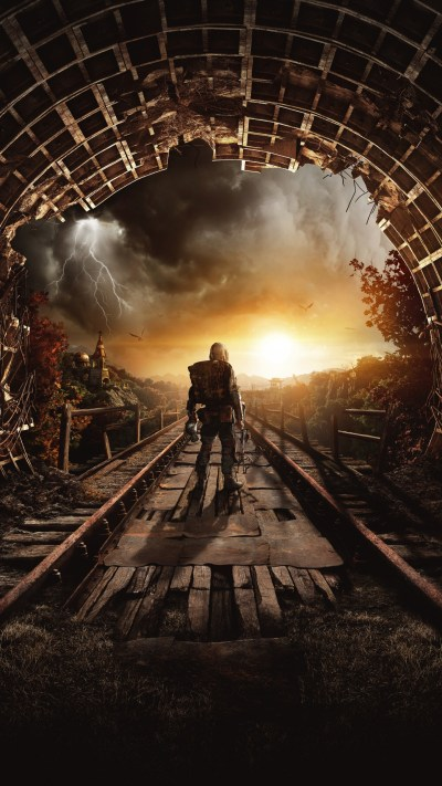Wallpaper Metro Exodus, Autumn, Gamescom 2018, artwork, poster, 7K, Games #20098