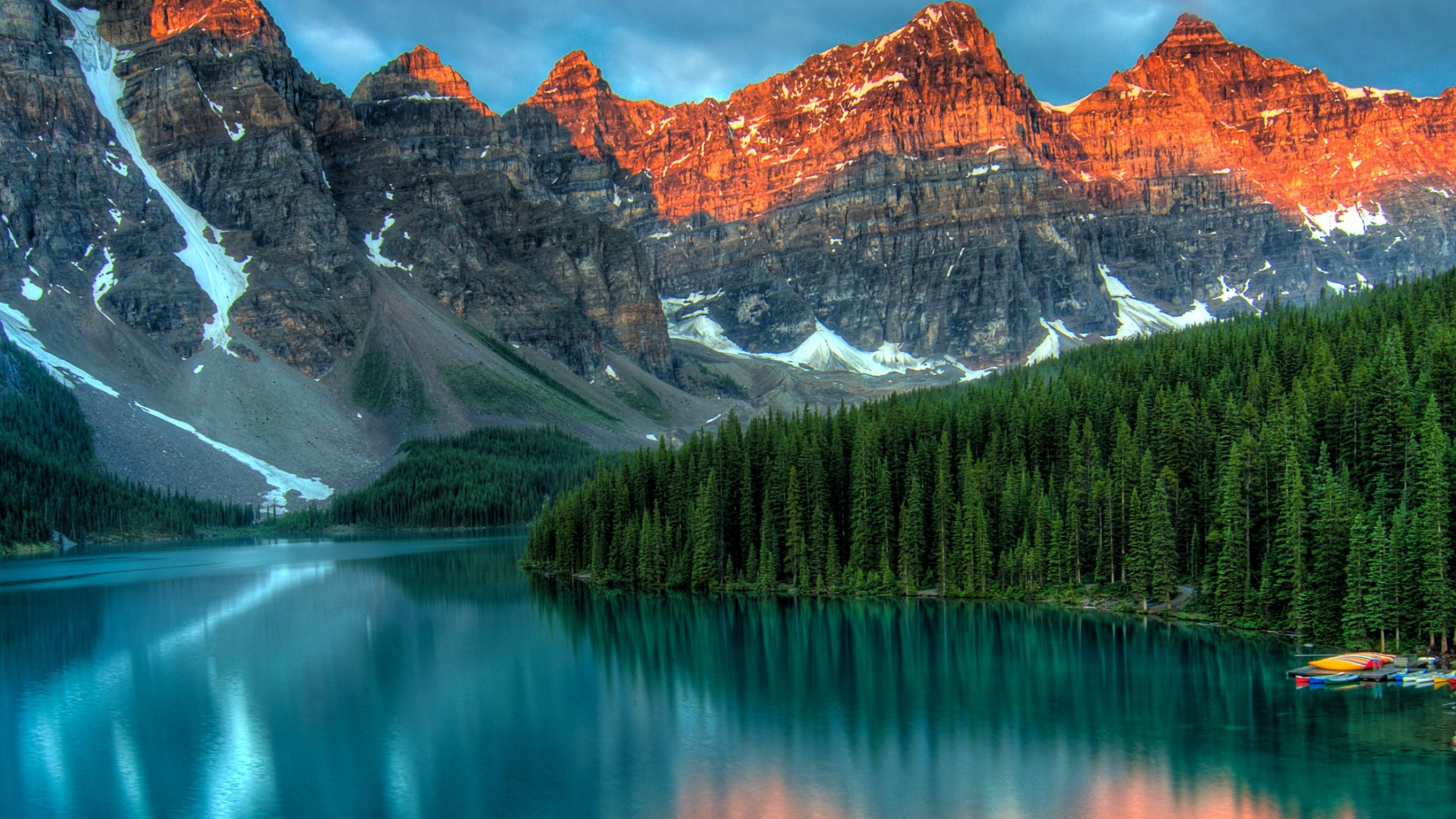 Wallpapers 2560x1440 Cars Wallpaper Moraine Lake Banff Canada Mountains Forest