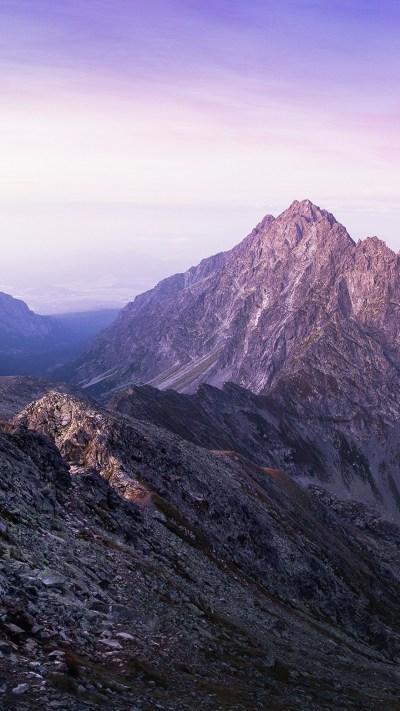 Wallpaper mountains, 4k, HD wallpaper, winter, Nature #12589