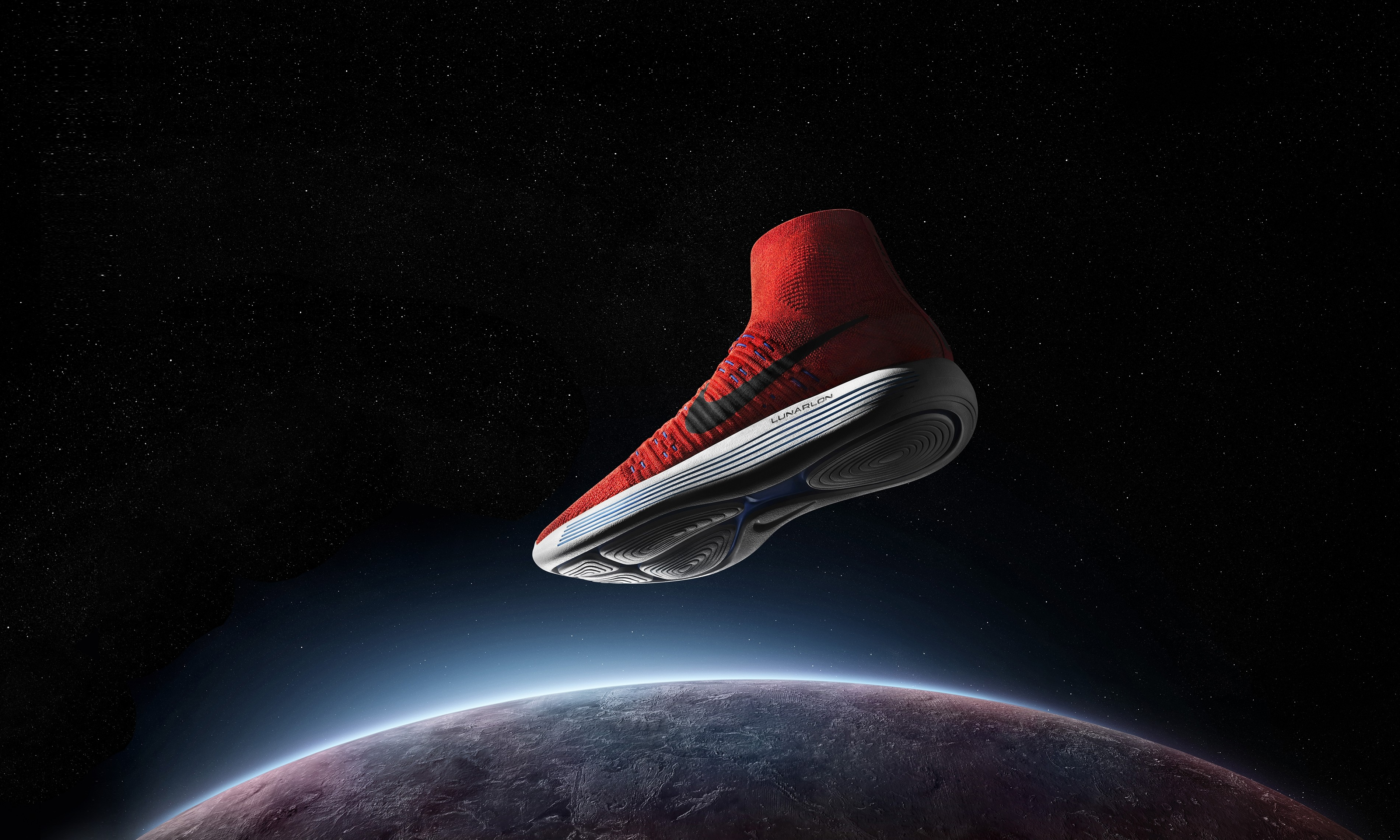 Nike Quotes Wallpaper Hd Iphone Wallpaper Nike Lunarepic Flyknit Sneakers Space Sport