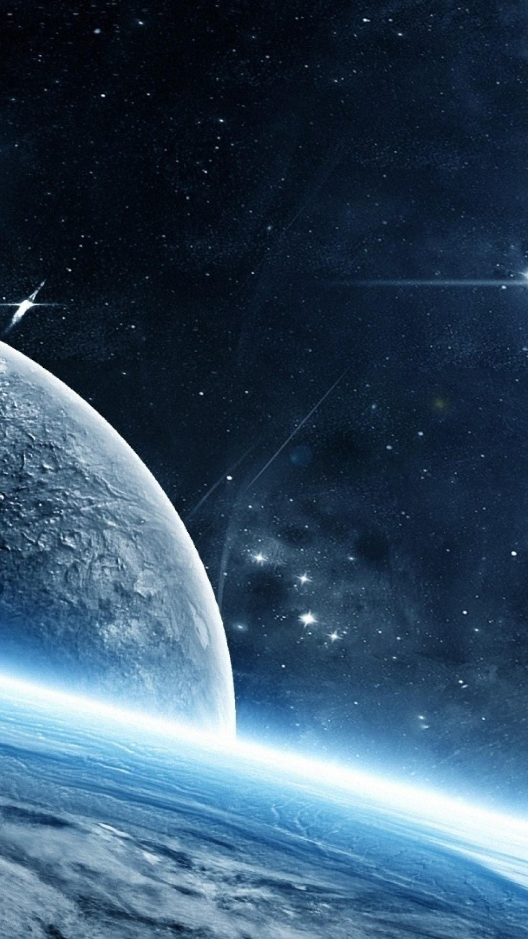 Lightsaber Iphone Wallpaper Wallpaper Planet Galaxy Stars 4k Space 16848