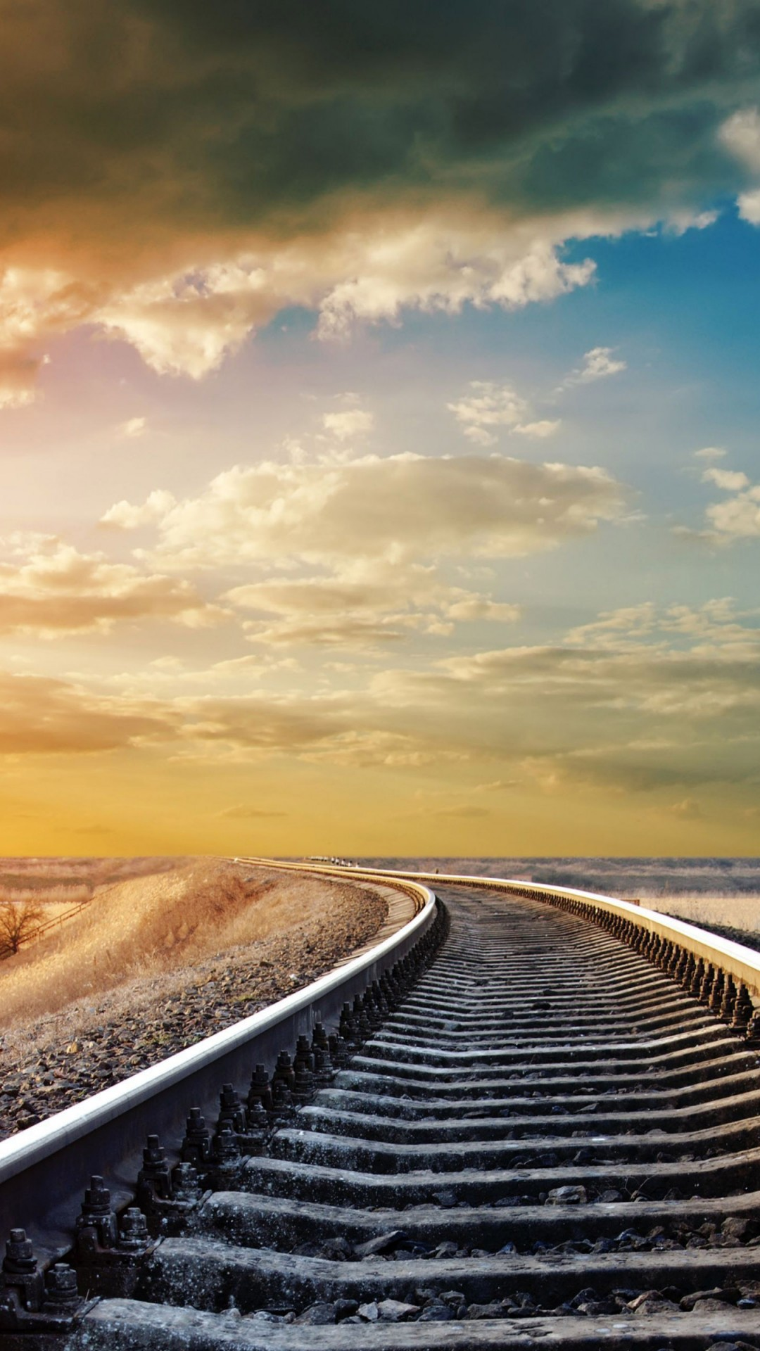 Pinterest Wallpaper Quotes Wallpaper Railway 4k Hd Wallpaper Road Sky Clouds