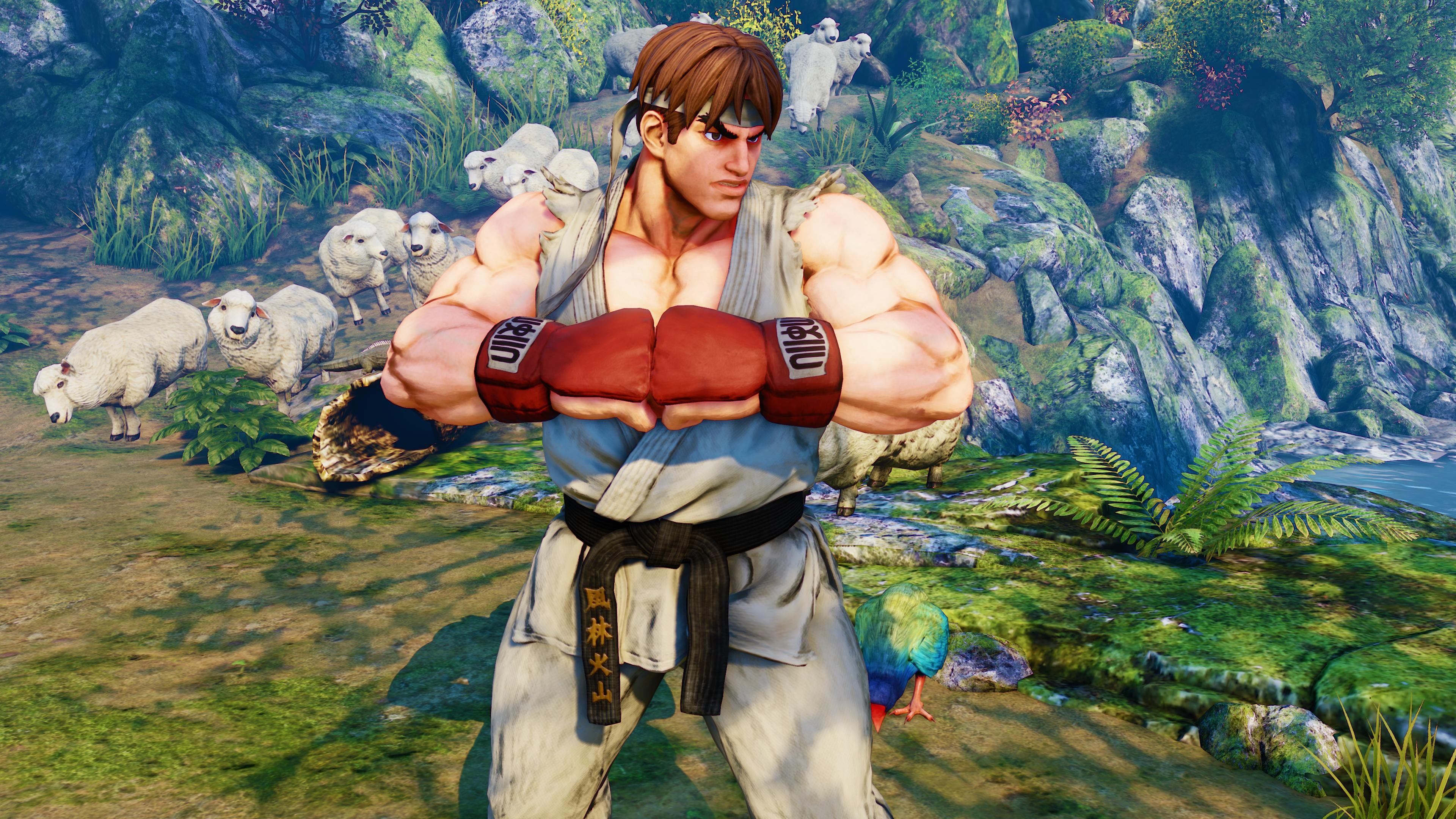 Beard Hd Wallpapers Download Wallpaper Street Fighter 5 Ryu Best Games Fantasy Pc