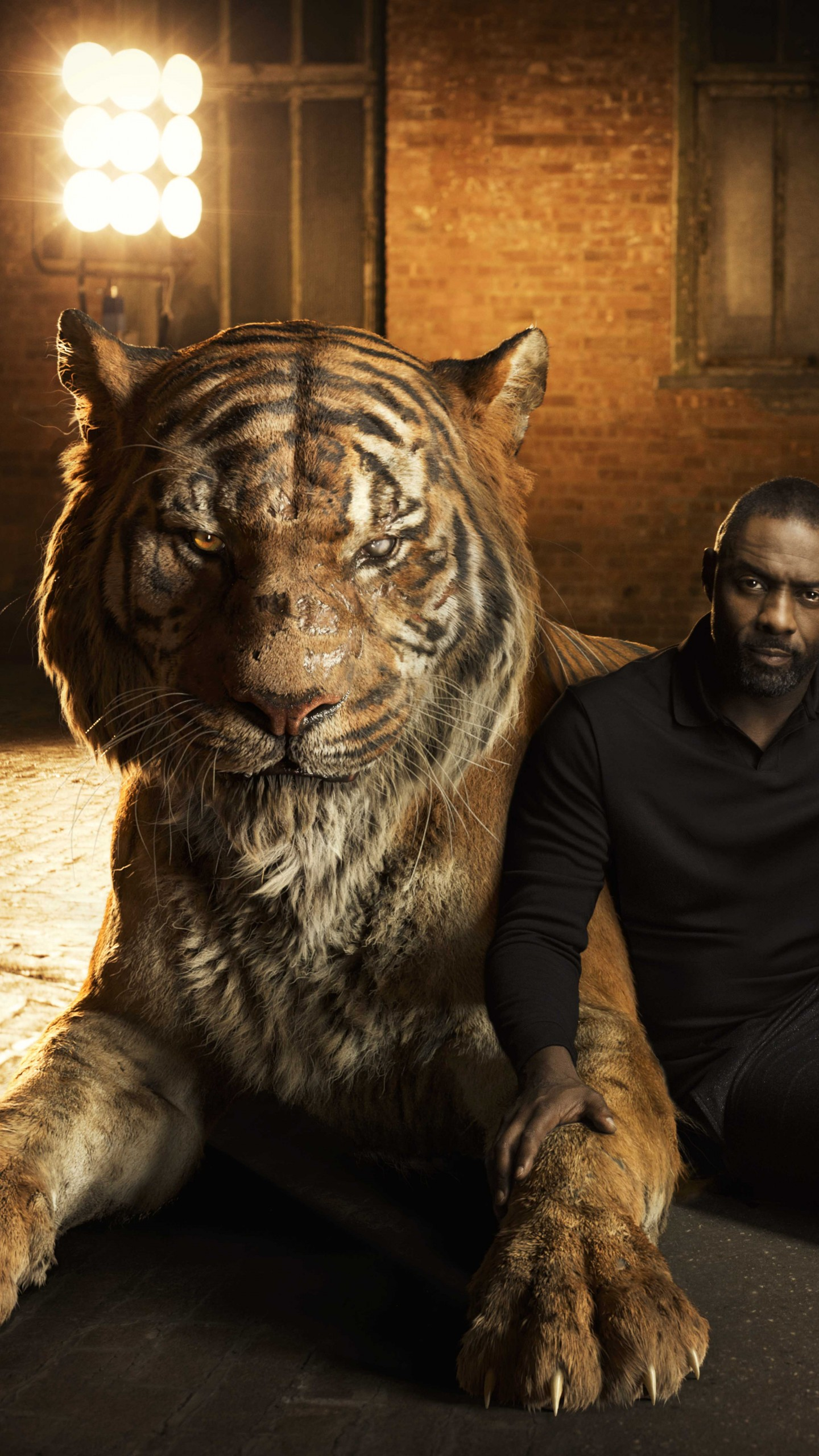 Girls 4k Wallpaper Wallpaper The Jungle Book Idris Elba Shere Khan