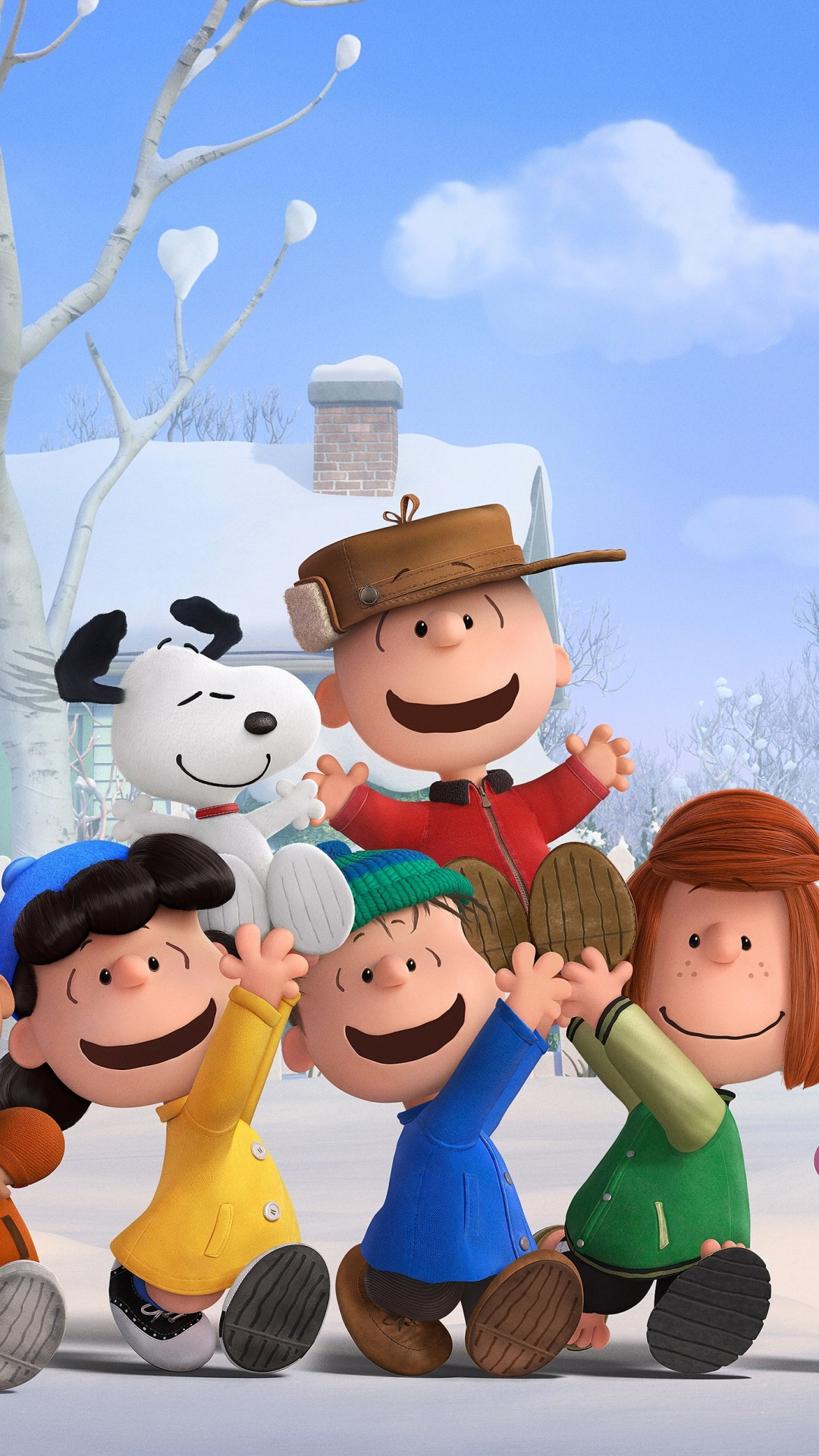 Us Military Hd Wallpapers Wallpaper The Peanuts Movie 2015 Cartoon Film Movie