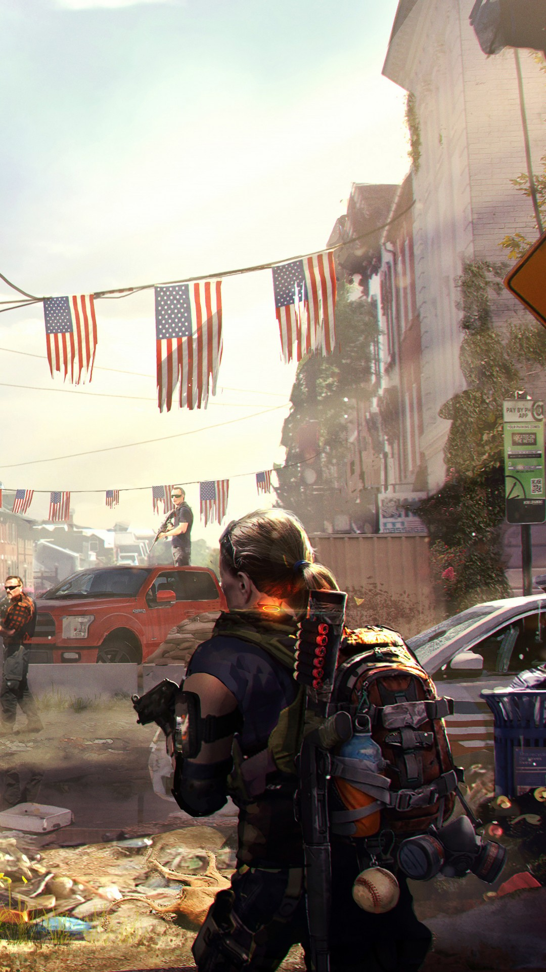 Wallpaper Nature With Quotes Wallpaper Tom Clancy S The Division 2 E3 2018 Artwork