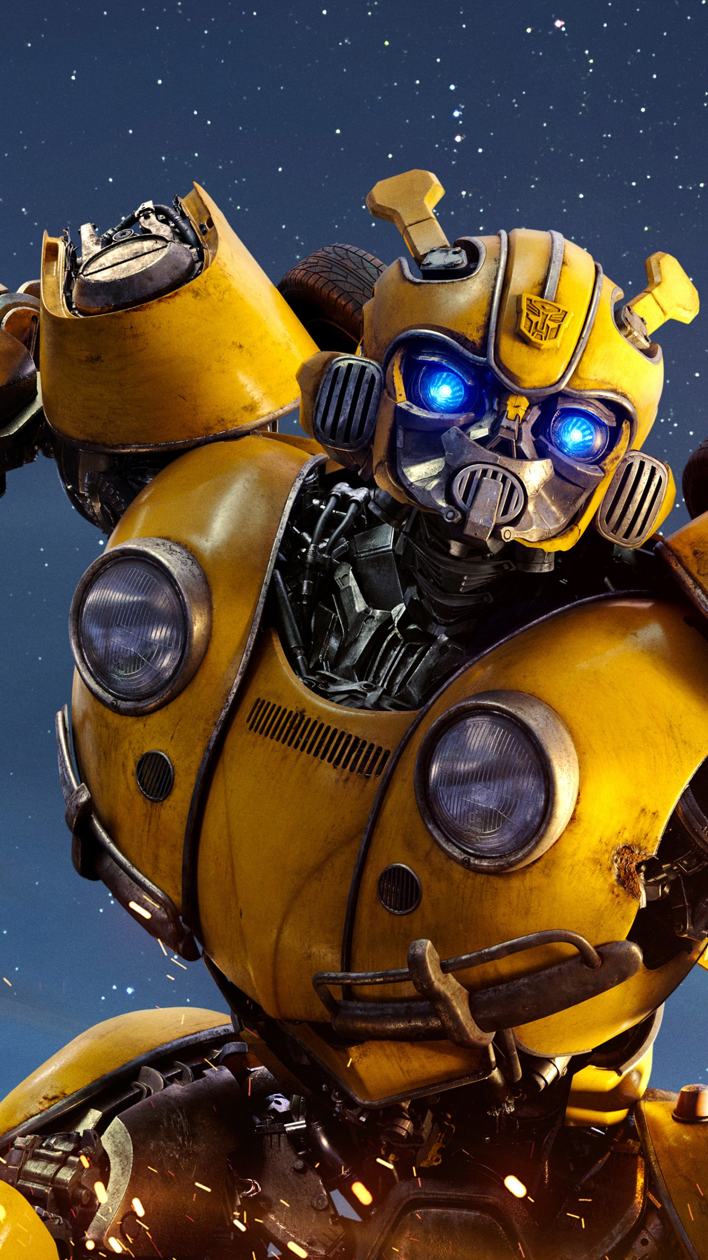 Fall Wallpaper 1080x1920 Wallpaper Transformers Bumblebee Poster 4k Movies 20945