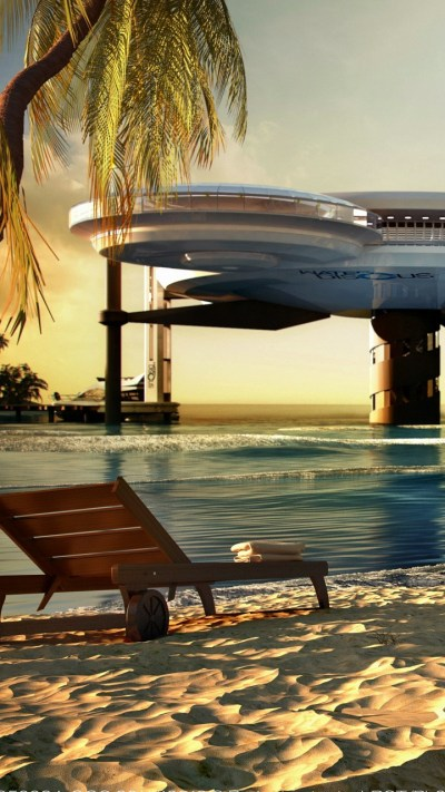 Wallpaper Water Discus Hotel, Dubai, sea, ocean, travel ...