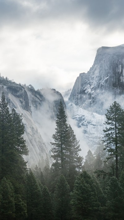 Wallpaper Yosemite, 5k, 4k wallpaper, 8k, forest, OSX, apple, mountains, Nature #181