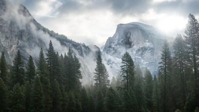 Wallpaper Yosemite, 5k, 4k wallpaper, 8k, forest, OSX, apple, mountains, Nature #181
