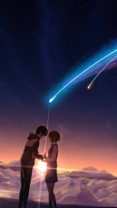 Wallpaper Your Name, anime, best animation movies, Movies #13200