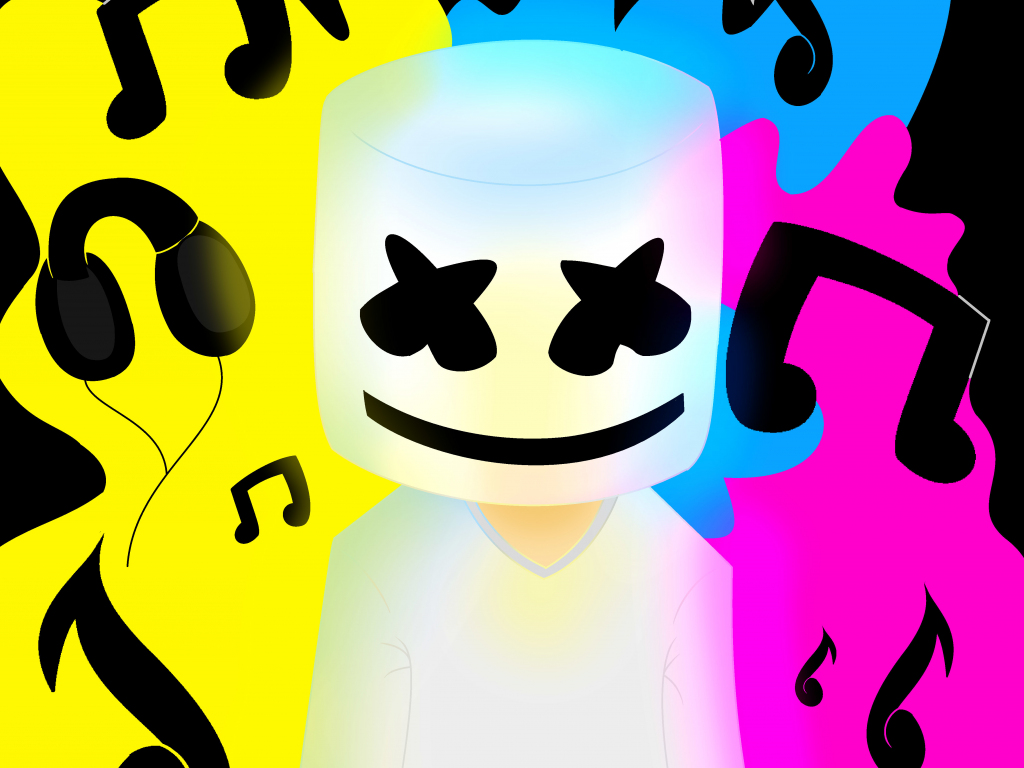 Cute Wallpaper For S5 Desktop Wallpaper Marshmello Music Colorful Hd Image