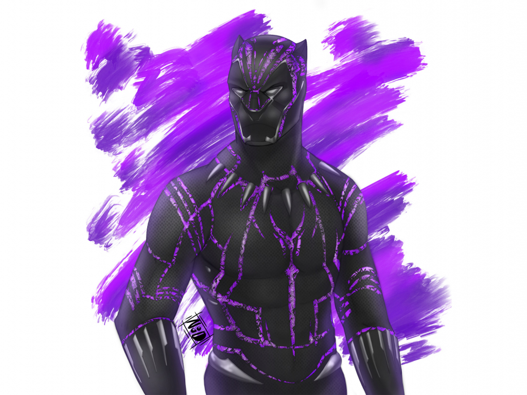 Cute Wallpaper For S5 Desktop Wallpaper Black Panther Superhero Fan Artwork