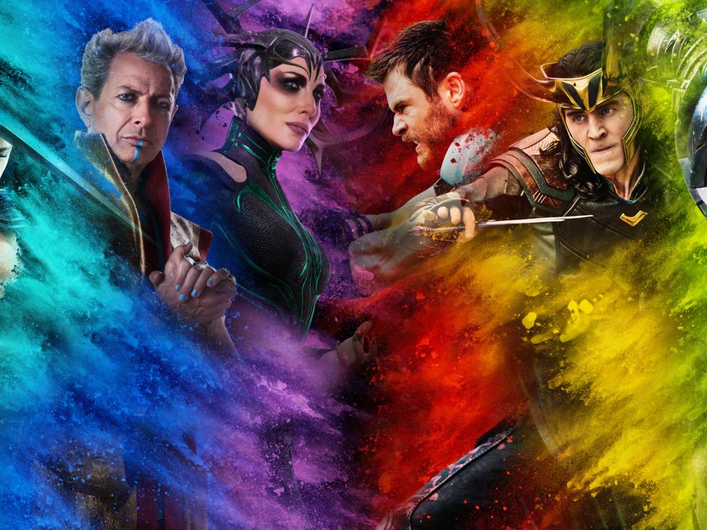 Cool Lion Wallpapers Hd Desktop Wallpaper Thor Ragnarok Movie Colorful Art Hd
