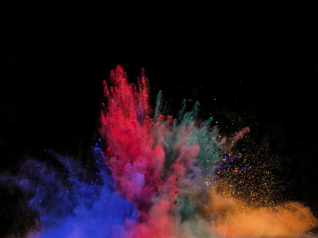 Ultra Hd Wallpapers 8k Cars Pack Desktop Wallpaper Color Explosion Powder S Blast Hd