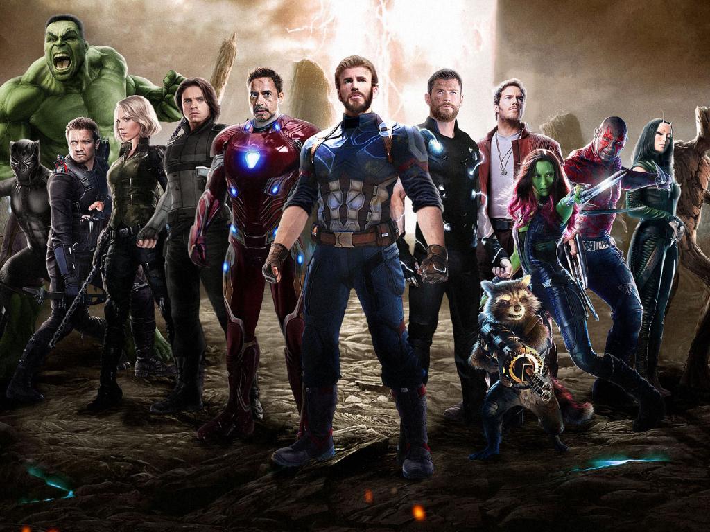 Hd Superhero Wallpapers For Pc Desktop Wallpaper Team Of Superheroes Movie 2018