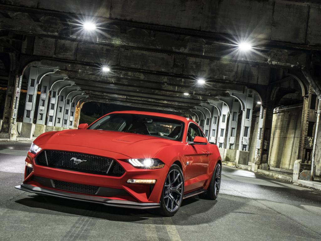 1080p Muscle Car Wallpaper Desktop Wallpaper 2018 Ford Mustang Gt Performance Package