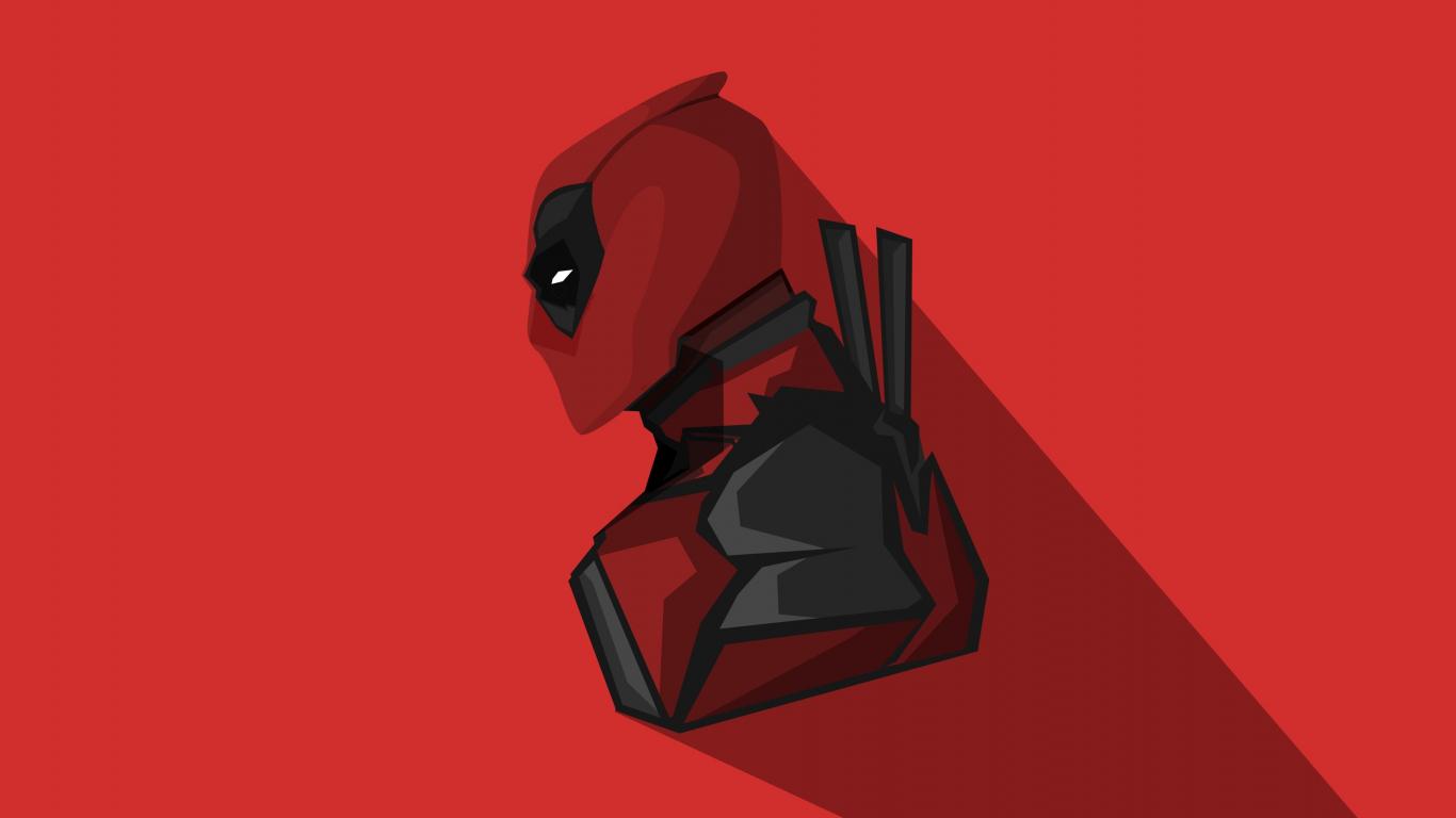 Deadpool Wallpaper Hd 1080p Download 1366x768 Wallpaper Deadpool Marvel Comics