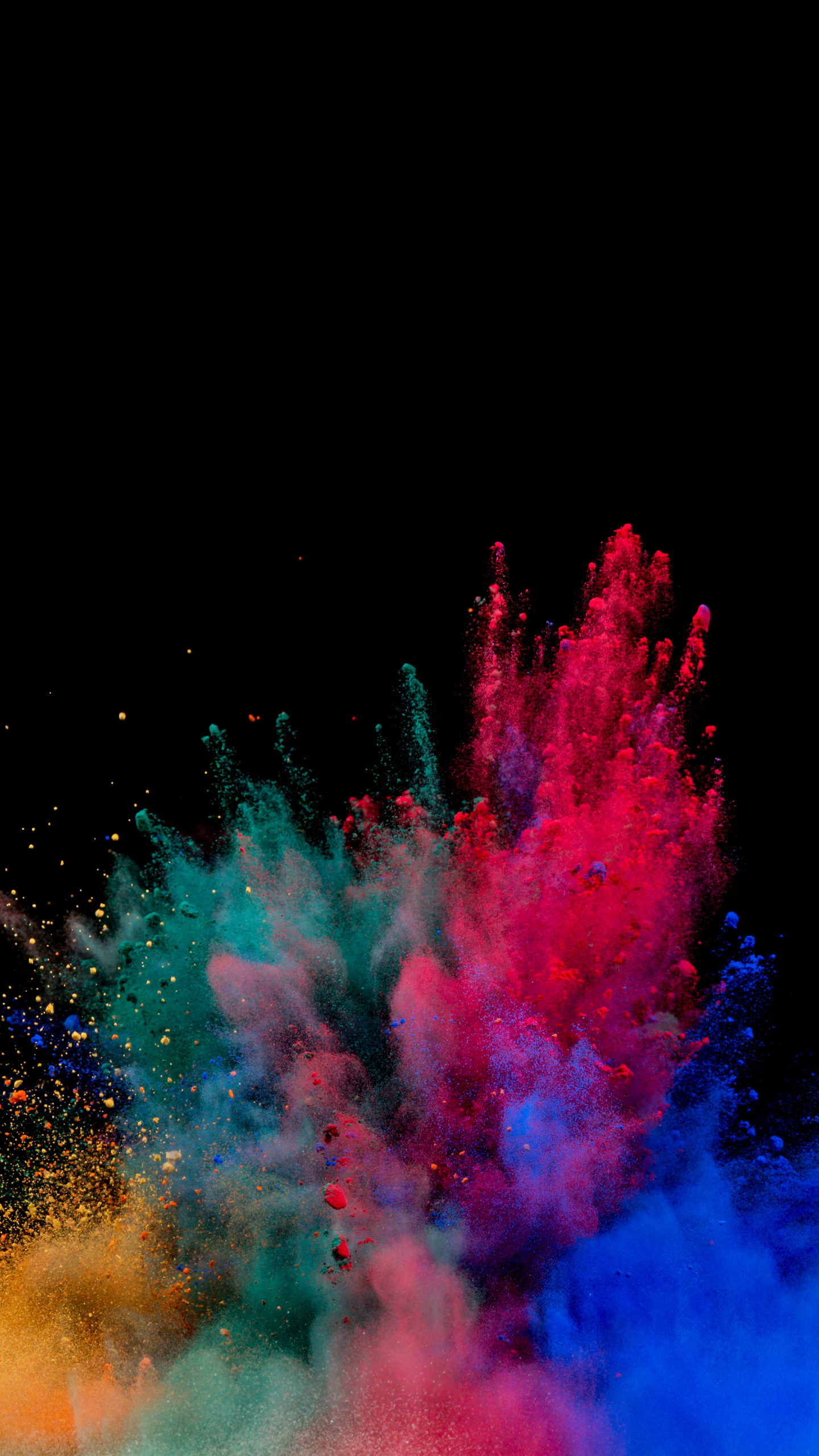 Cute Wallpapers For Mobile Samsung Download 1440x2560 Wallpaper Colors Blast Explosion
