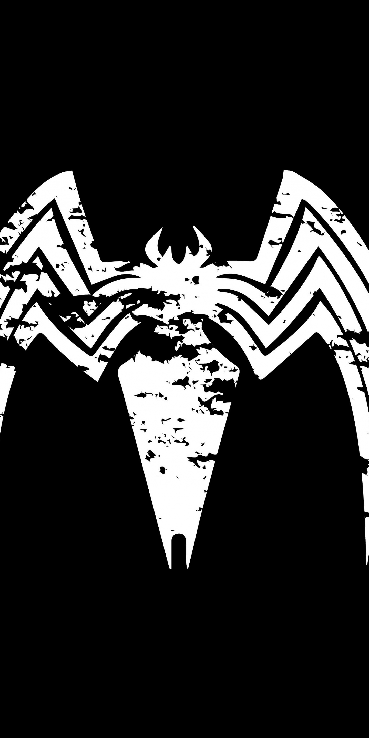 Wallpaper 4k Samsung Galaxy S8 Girls Download 1440x2880 Wallpaper Venom Logo Villain Minimal