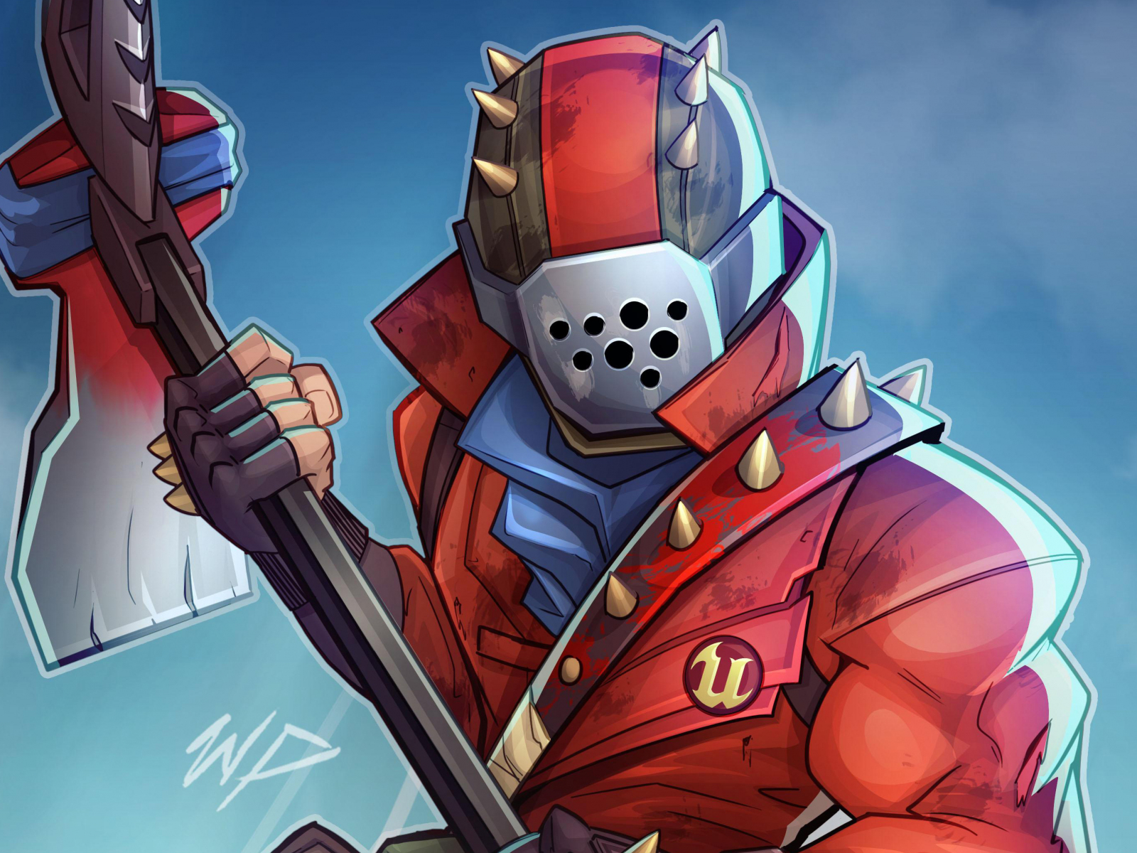 Cute Wallpapers For Mobile Samsung Download 1600x1200 Wallpaper Fortnite Video Game Fan Art