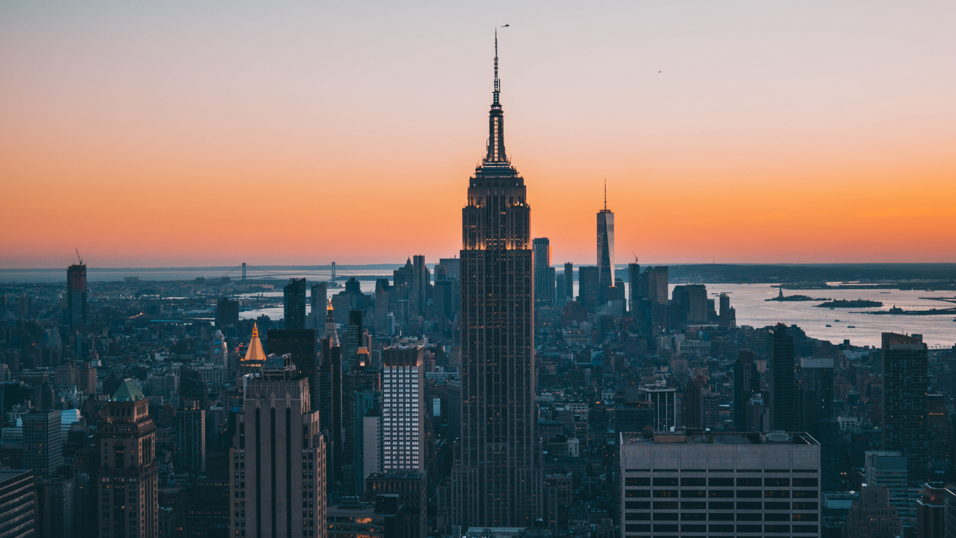 Wallpaper 4k Samsung Galaxy S8 Girls Download 1920x1080 Wallpaper Empire State Building